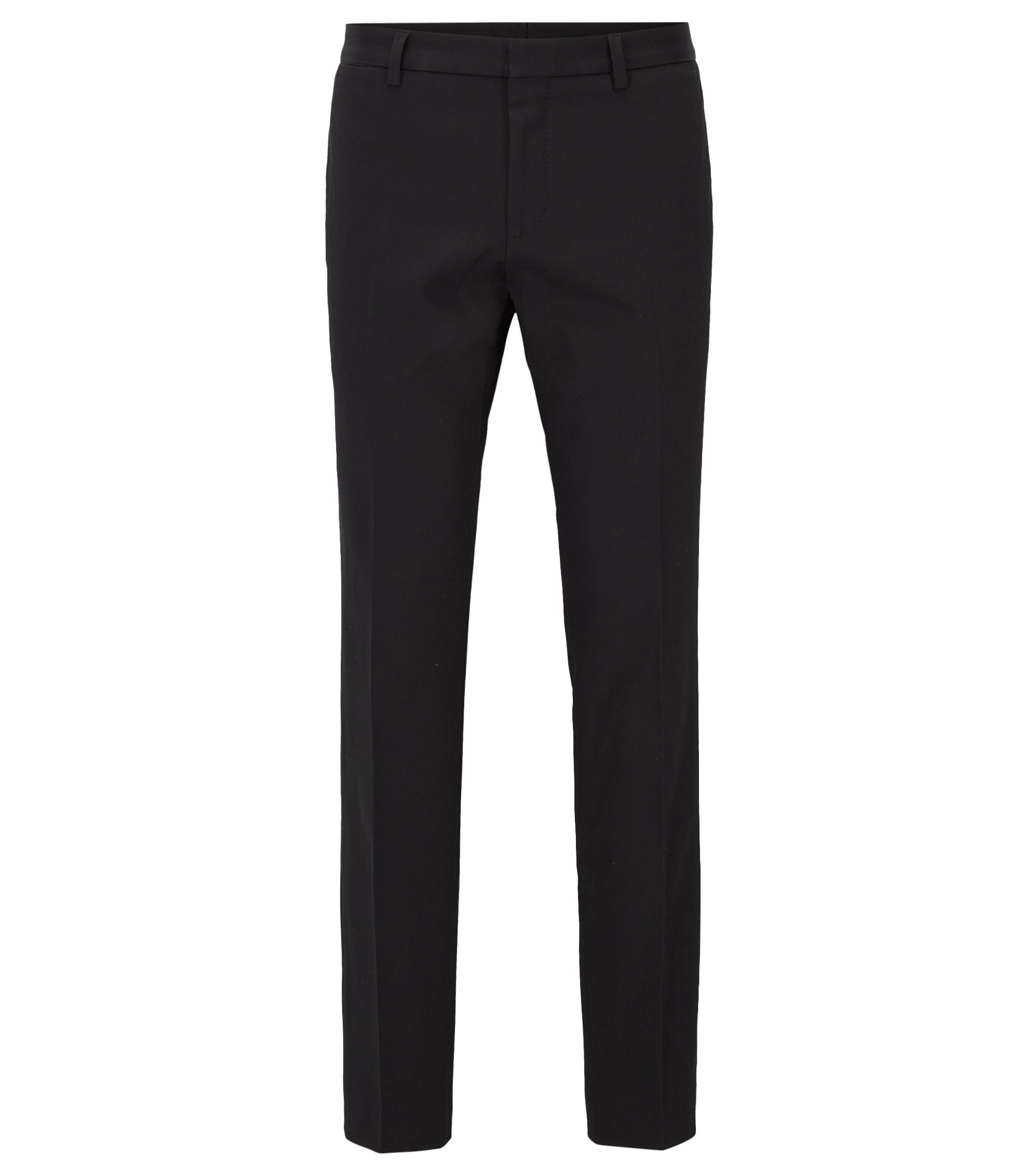 Stretch Cotton Dress Pant, Extra-Slim Fit | Winn, Black