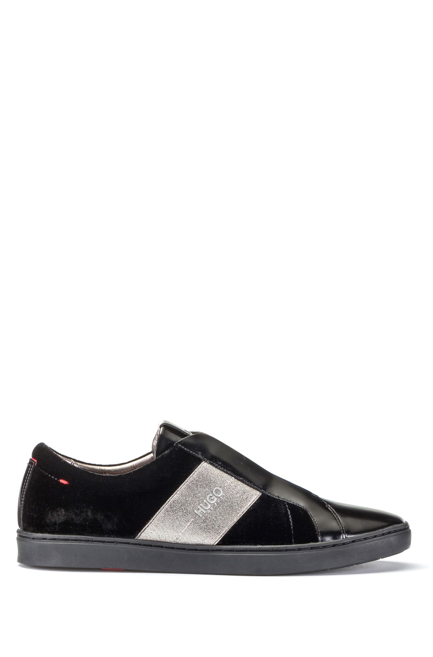 Velvet Laceless Sneaker | Post Tenn Vlt