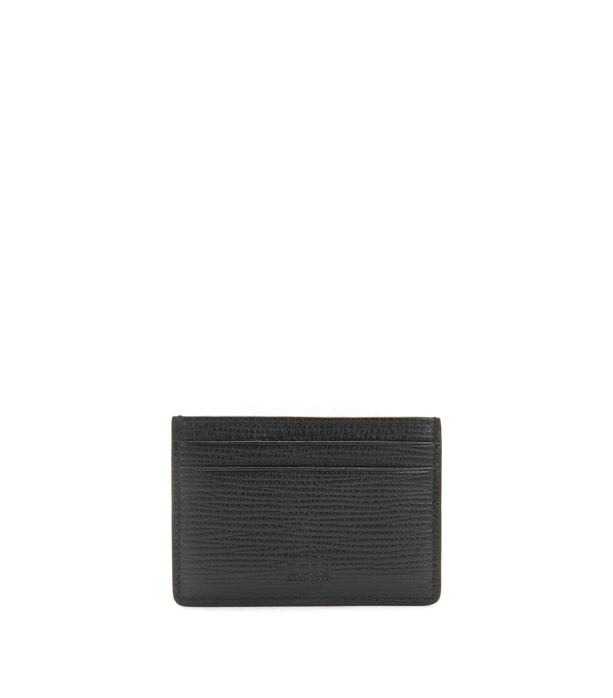 Card Holder With Money Clip | Timeless Money Clip, Black