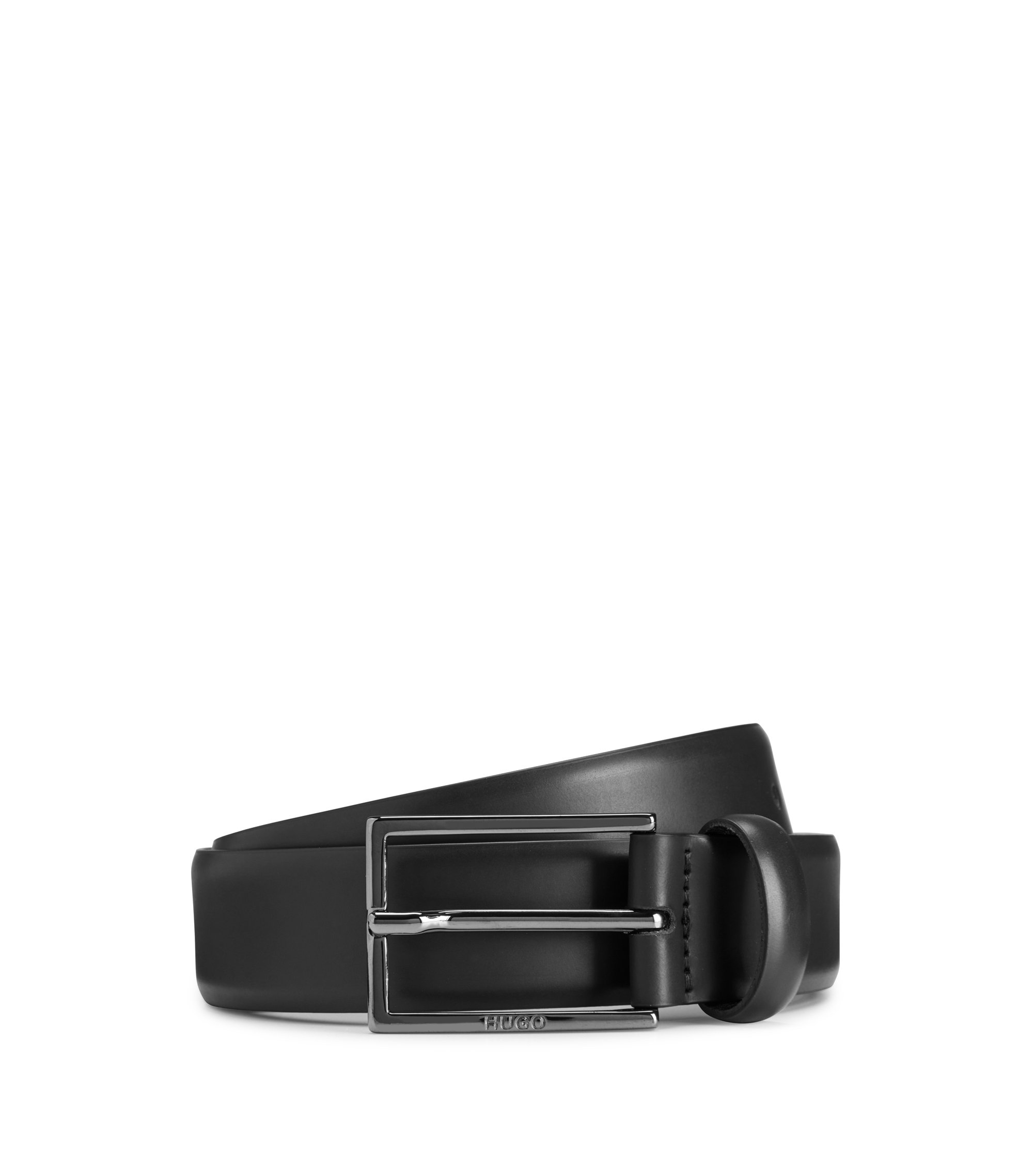 Studded Leather Belt | Gavri Sz30, Black
