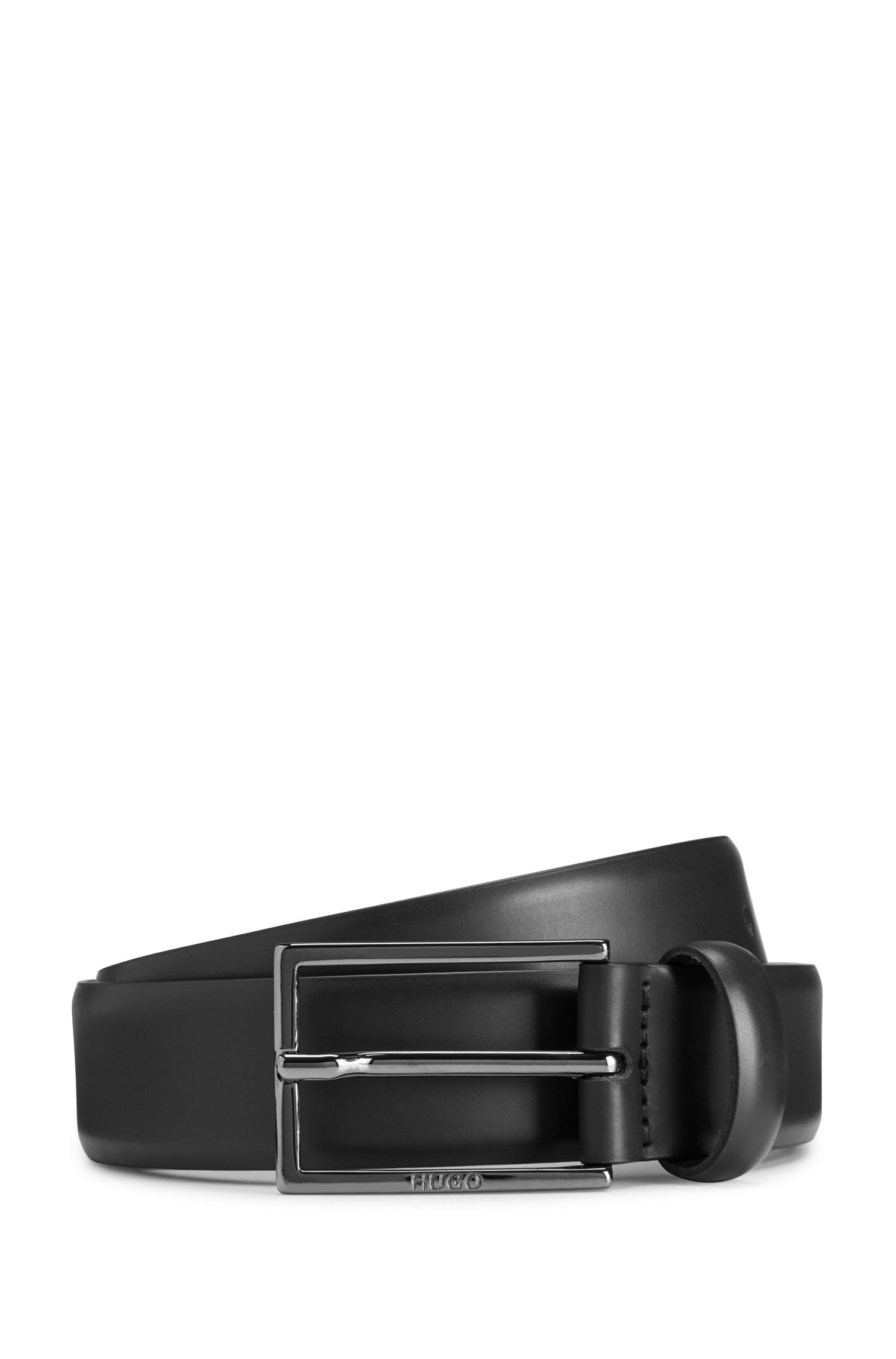 Studded Leather Belt | Gavri Sz30, Black