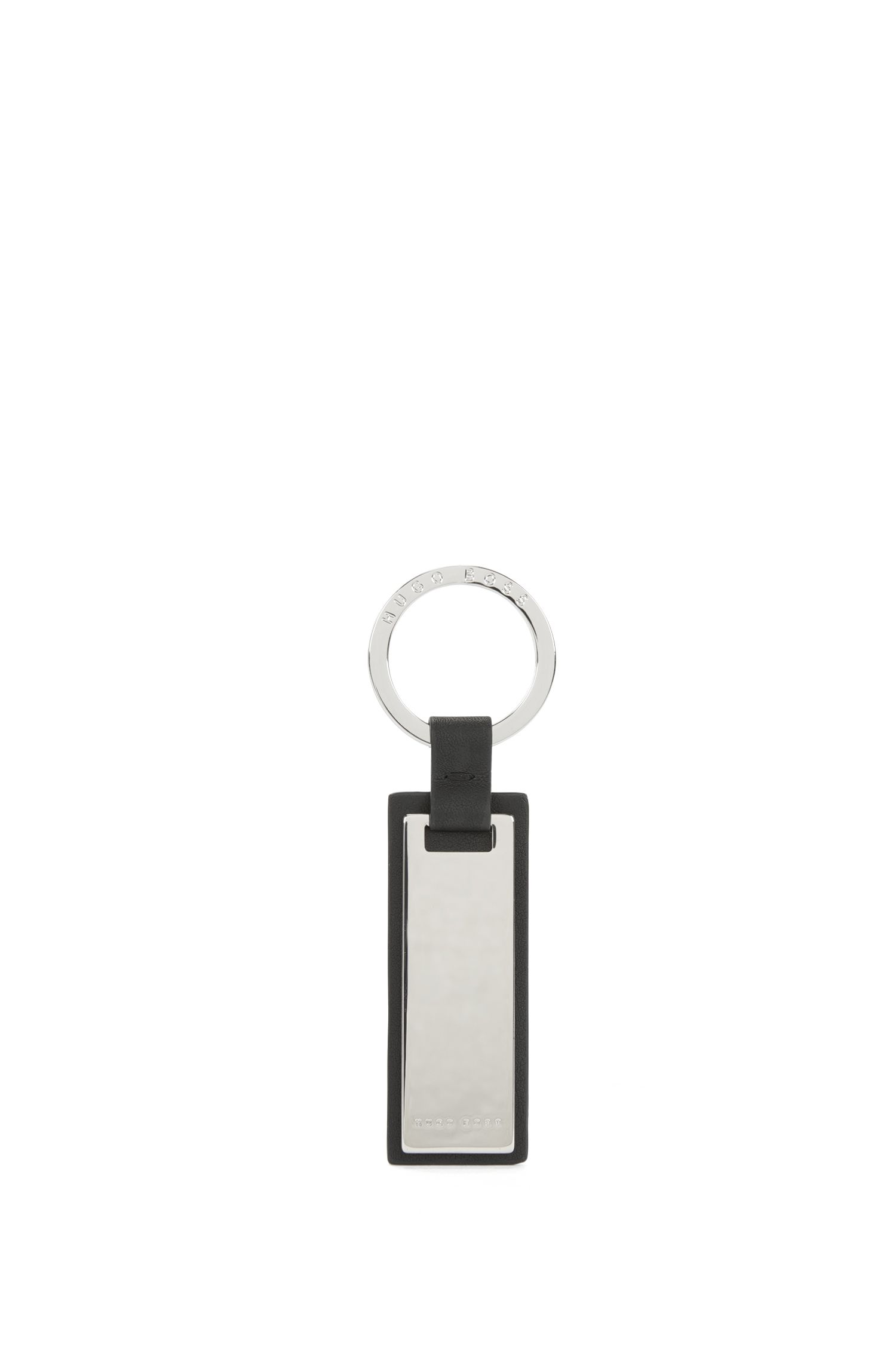 Leather Trim Key Fob | Majestic Key r Brimat