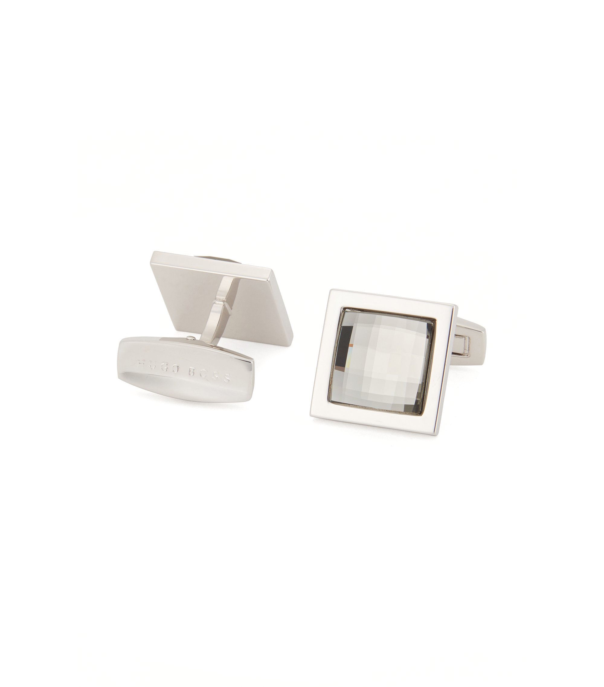 BOSS Cufflinks | T-Diamond, Light Grey