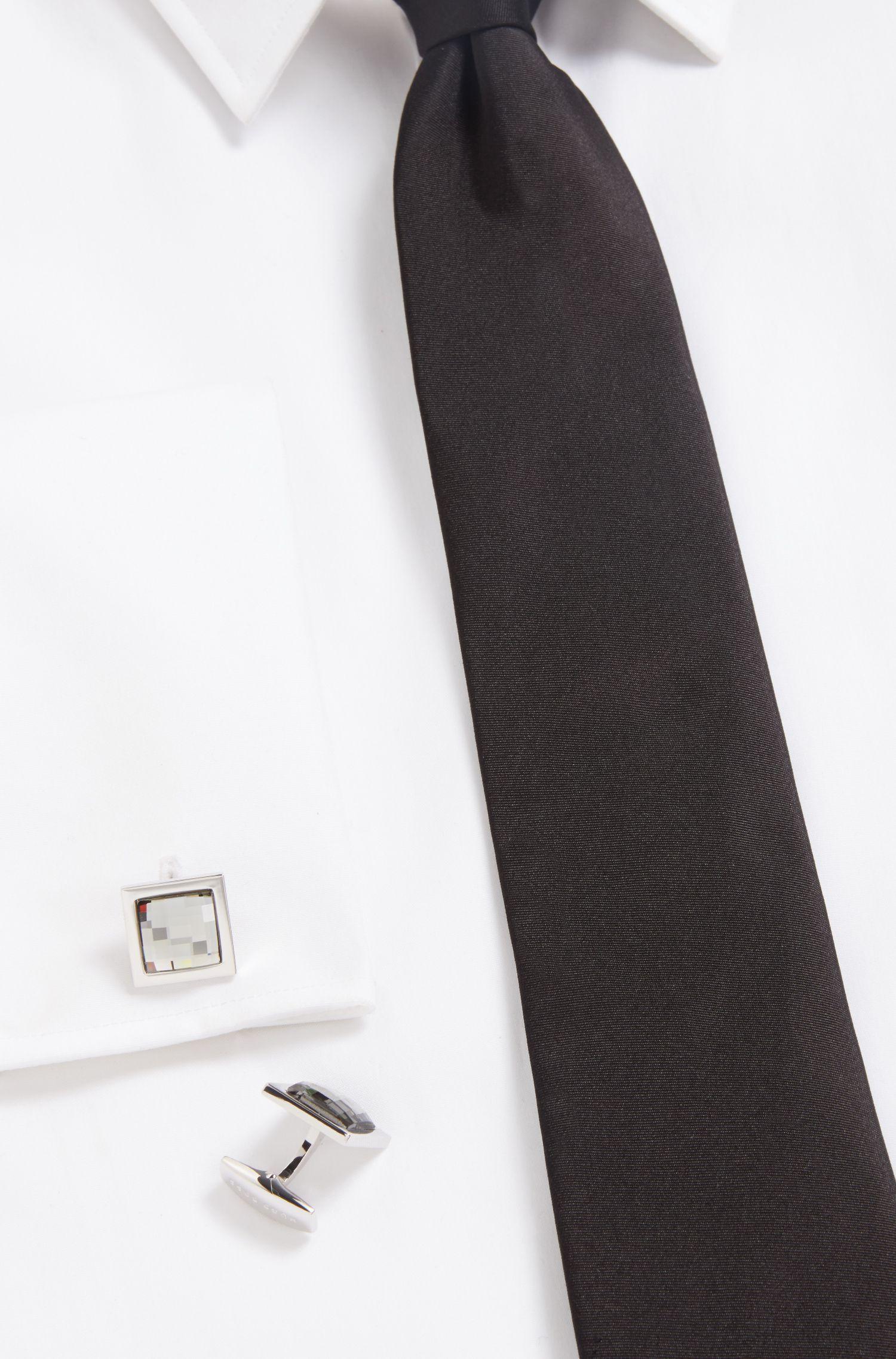 BOSS Cufflinks | T-Diamond, Light Grey