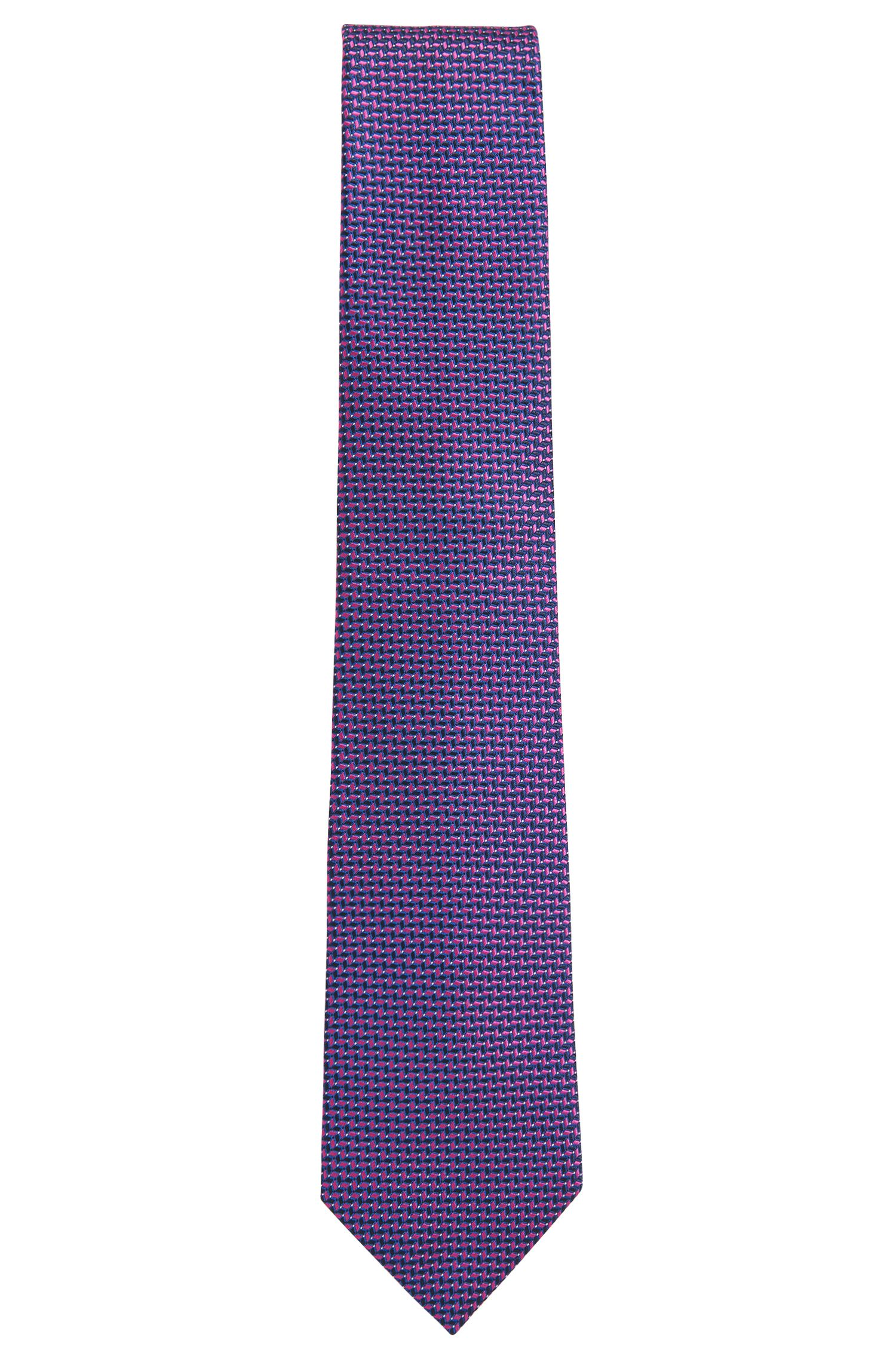 BOSS Tailored Geometric Italian Silk Tie