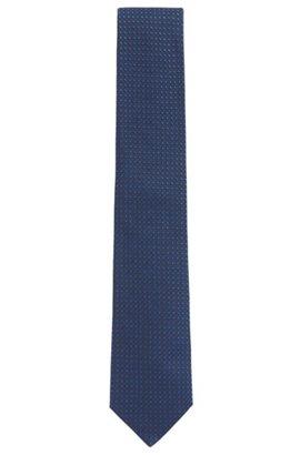Cravate Camouflage Imprimé En Soie Hugo Boss JFQXMY