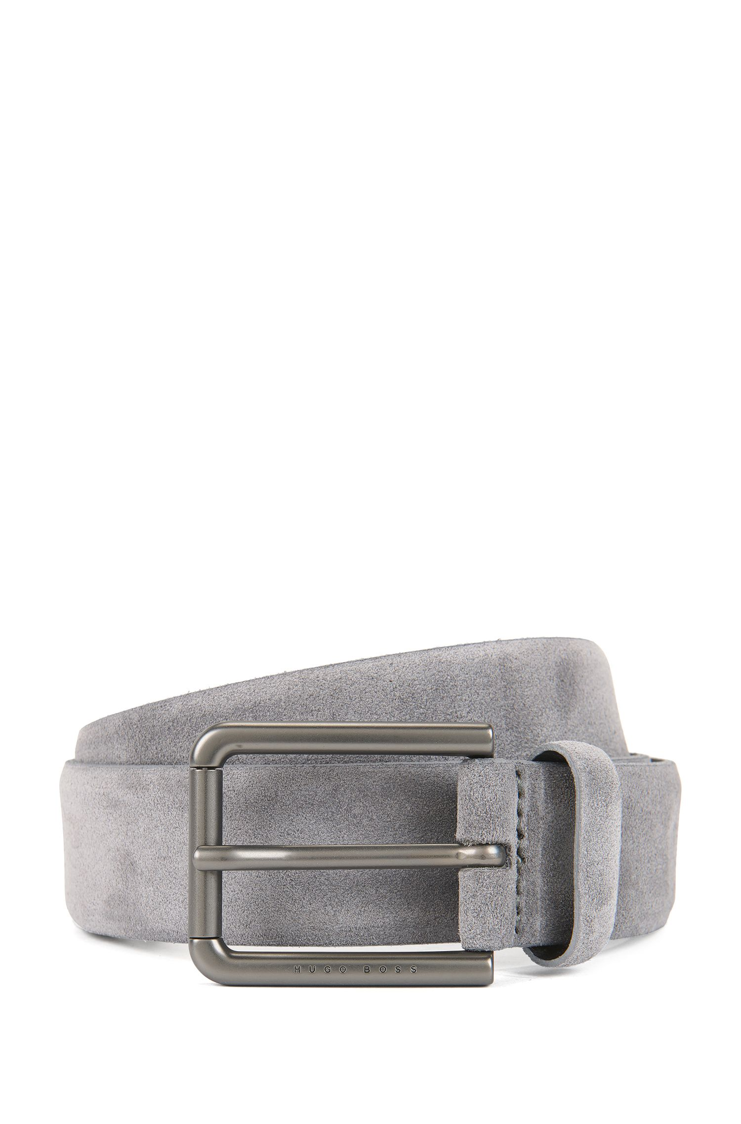 Suede Belt | Sily , Dark Grey