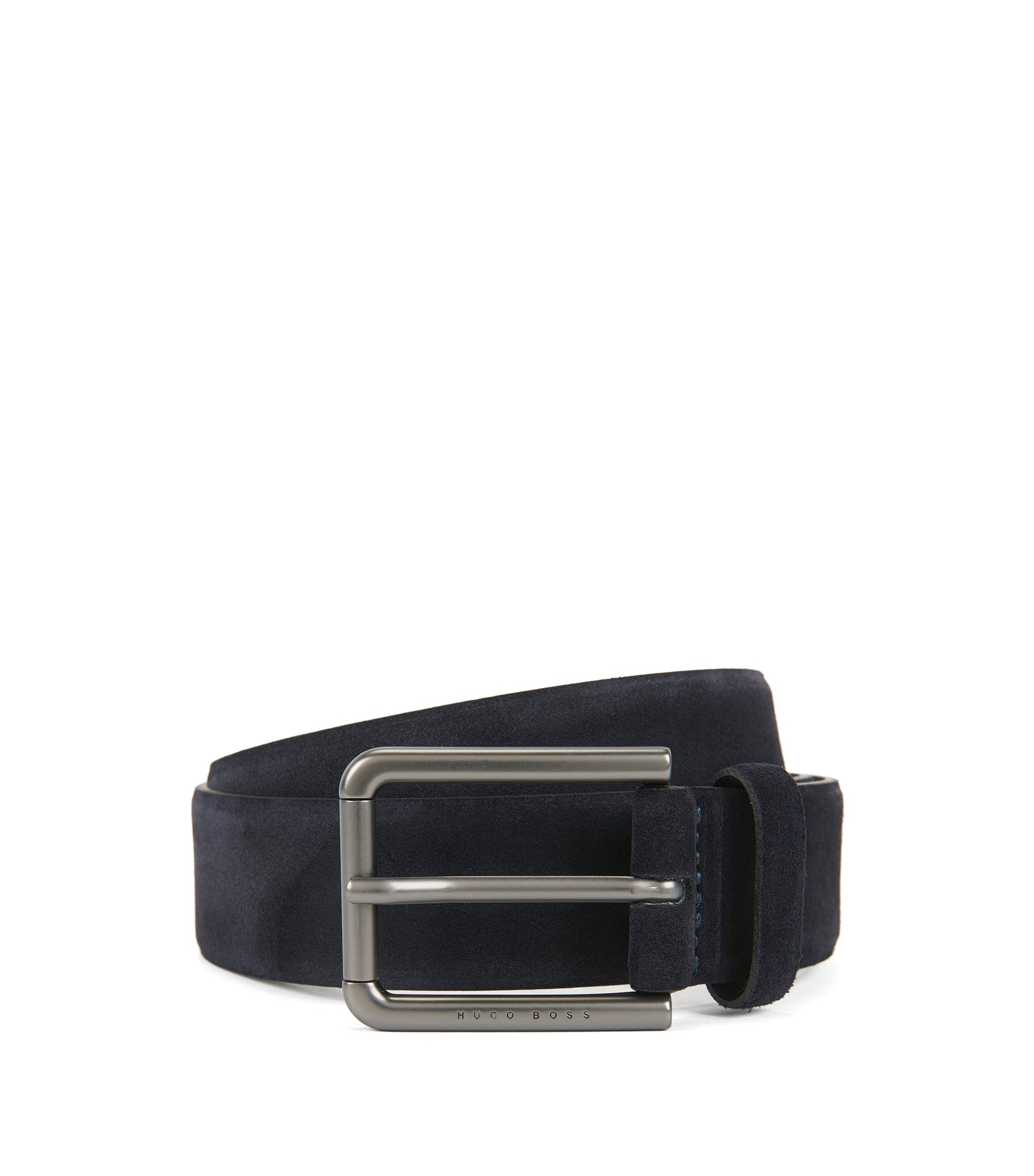 Suede Belt | Sily , Dark Blue