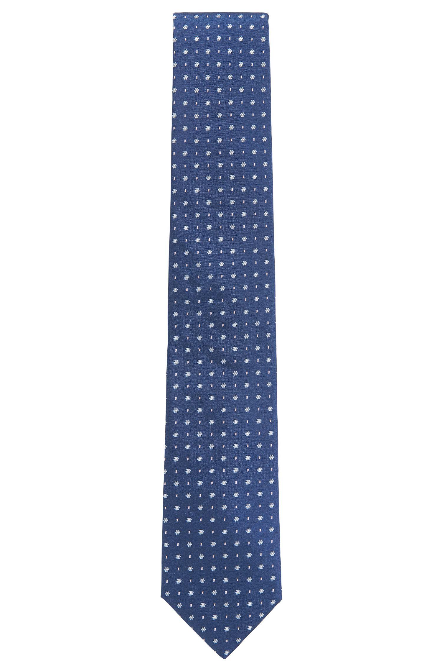 Floral Italian Silk Tie