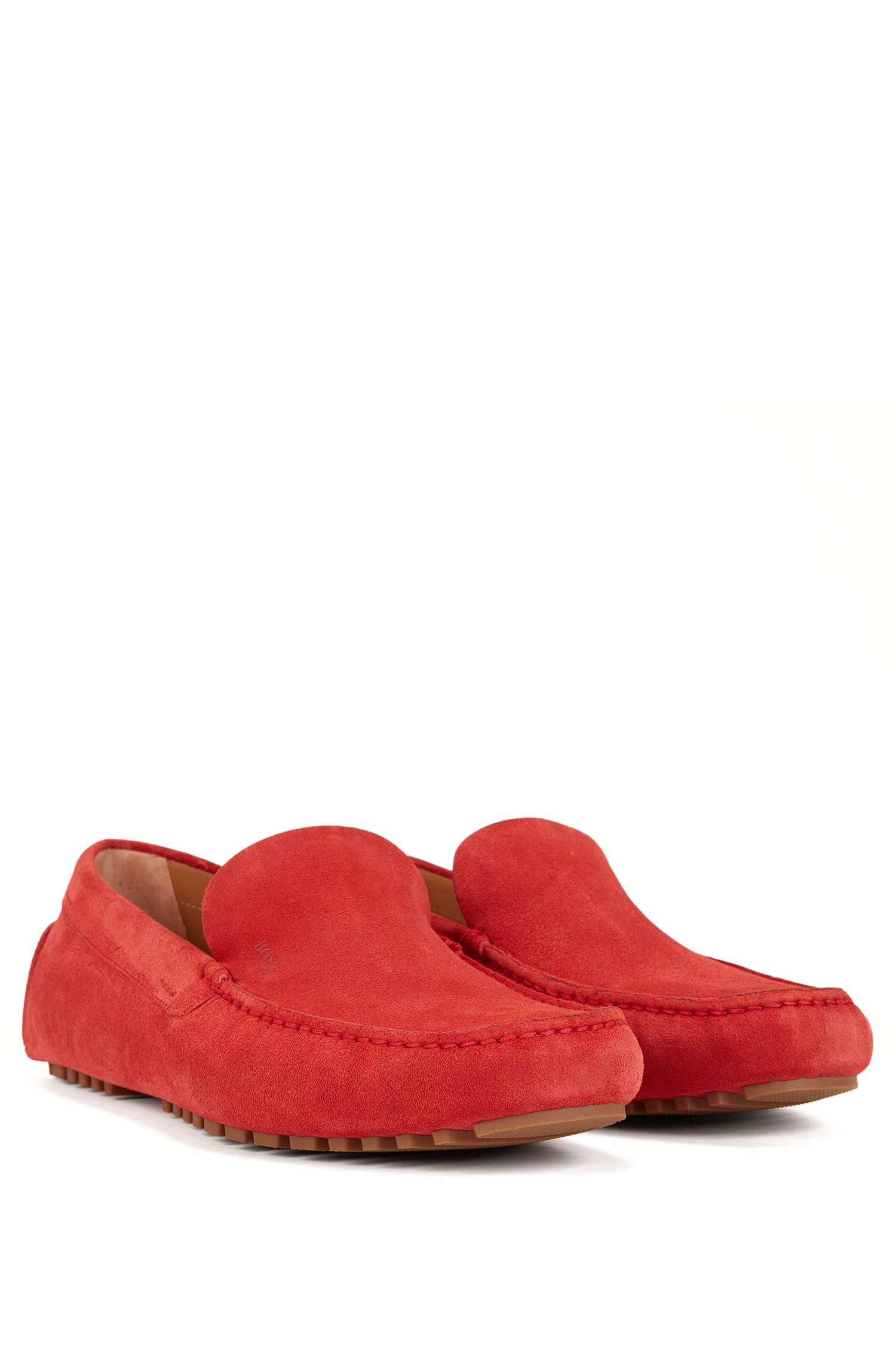 Suede Driving Loafer | Leather Driver