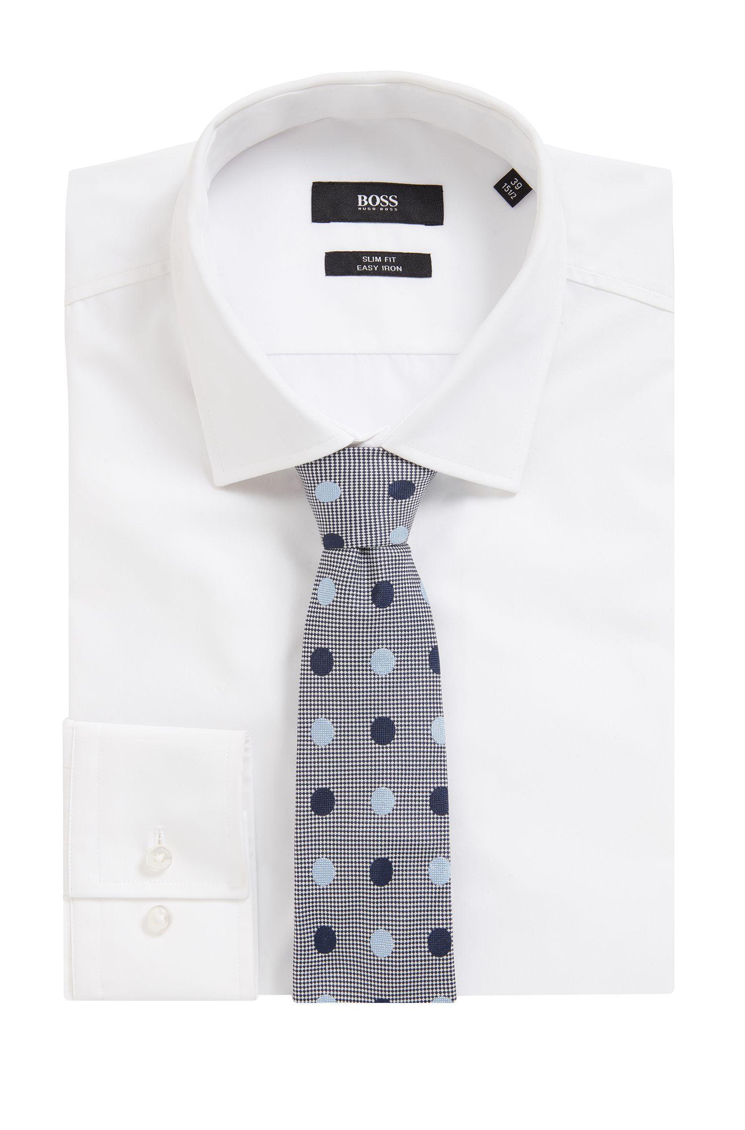 Polka Dot Italian Silk Tie