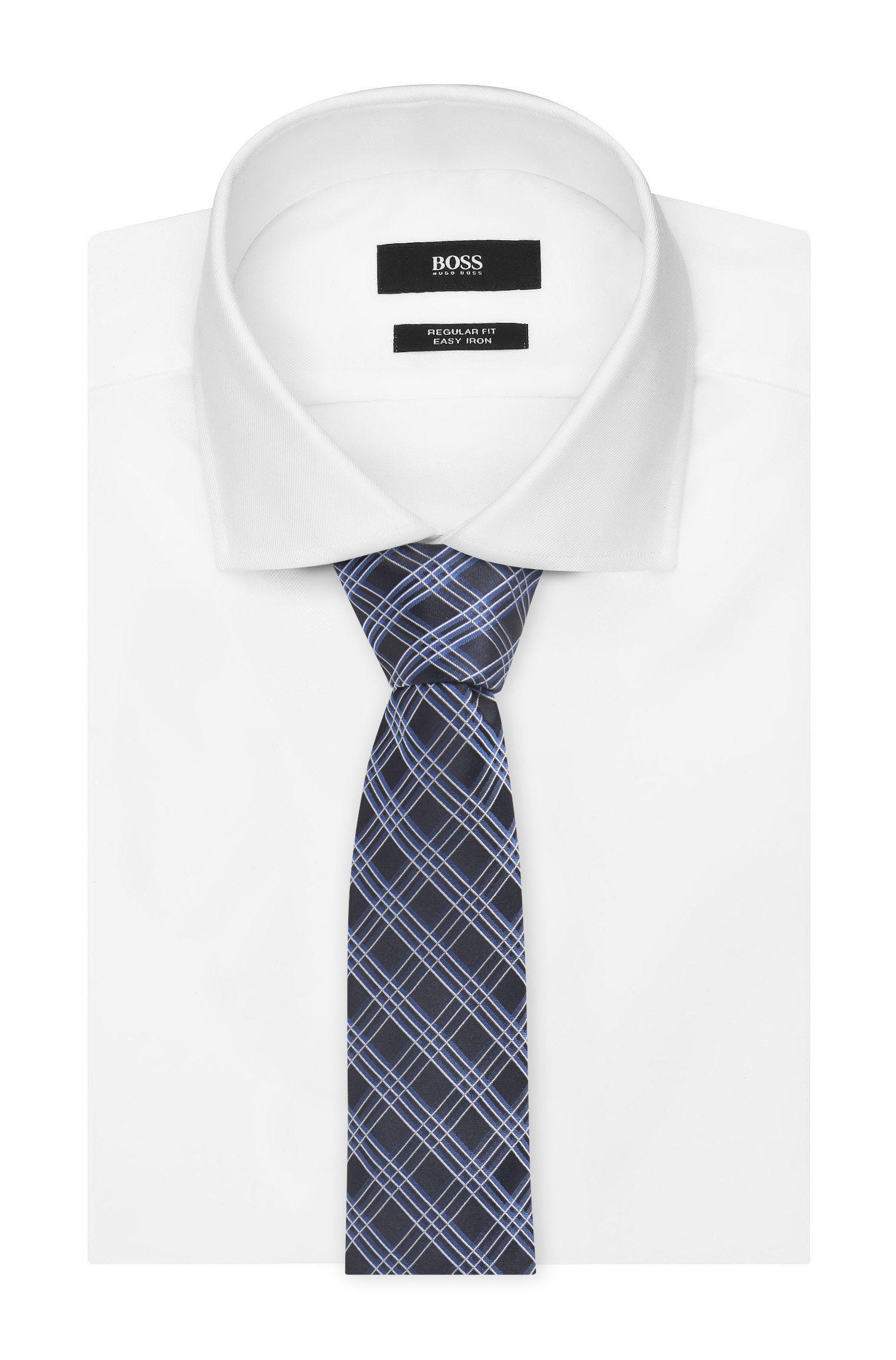 Plaid Italian Silk Tie