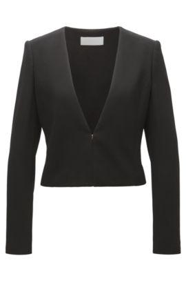 Cropped Jacket Jisuneri, Black