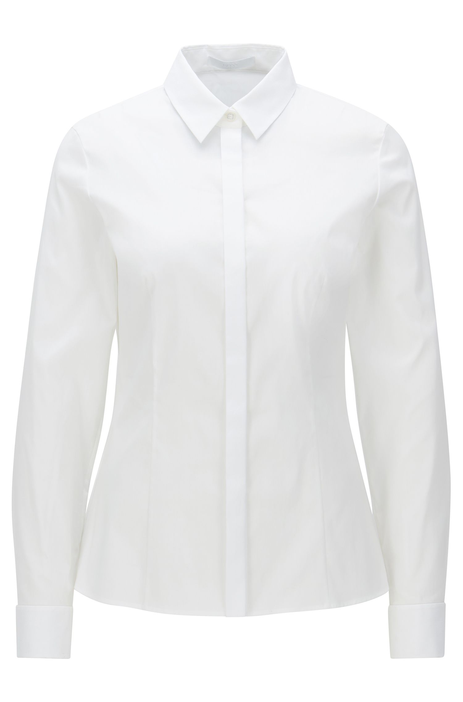 Cotton Blend Shirt | Bitara