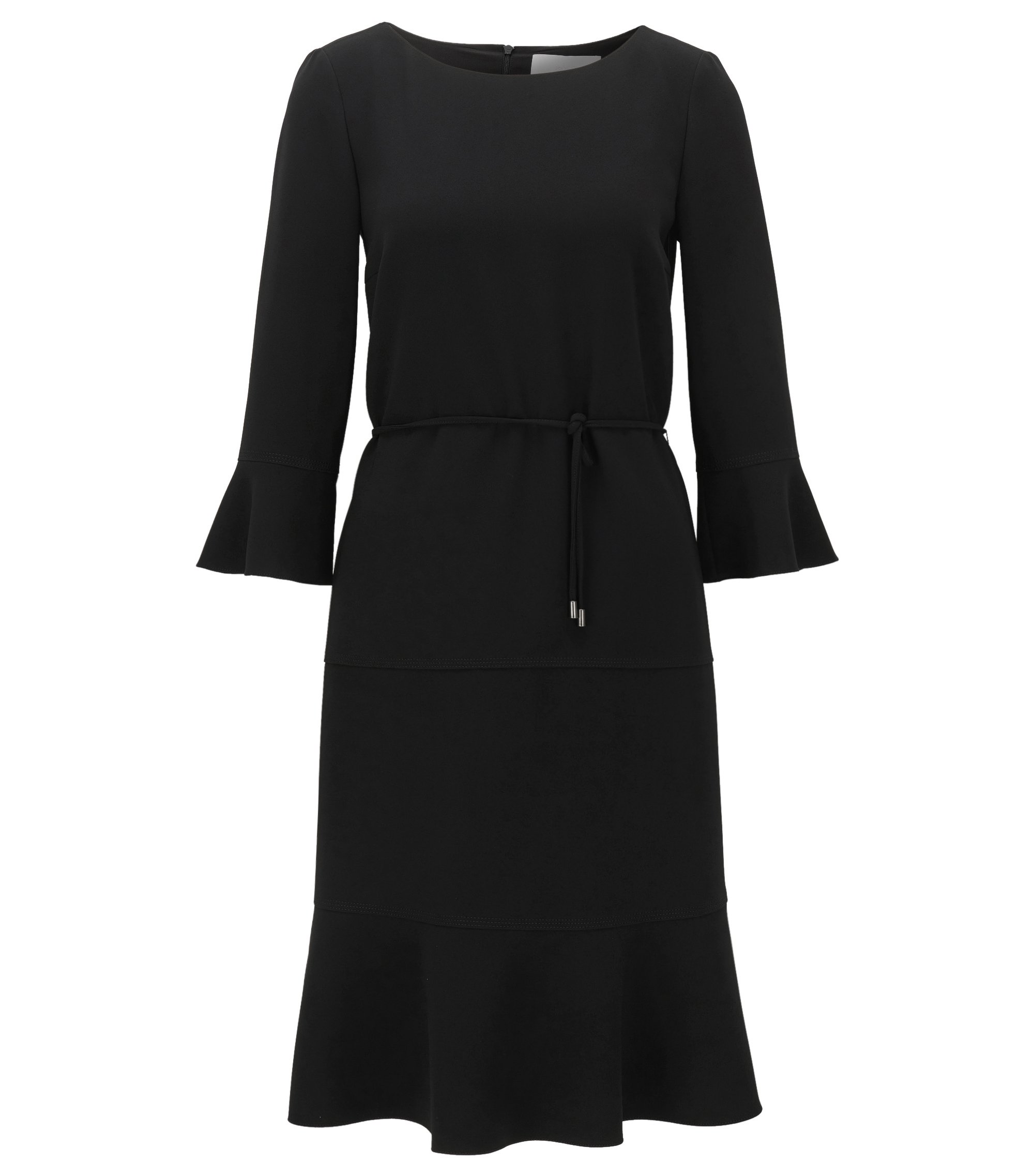 Flounce Dress | Henryke, Black