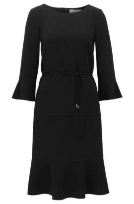Flounce Dress | Henryke, Black