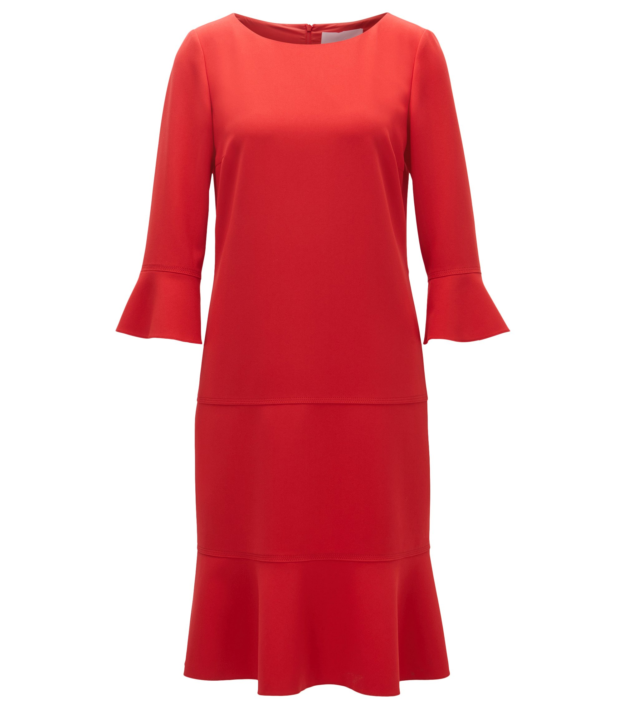 Flounce Dress | Henryke, Red