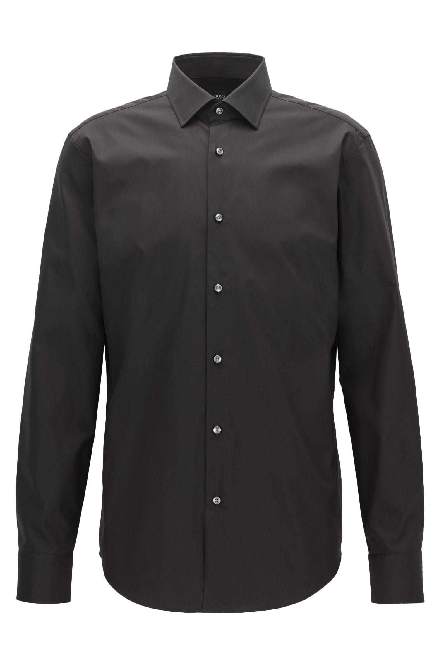 Easy Iron Cotton Dress Shirt, Regular Fit | Gerton