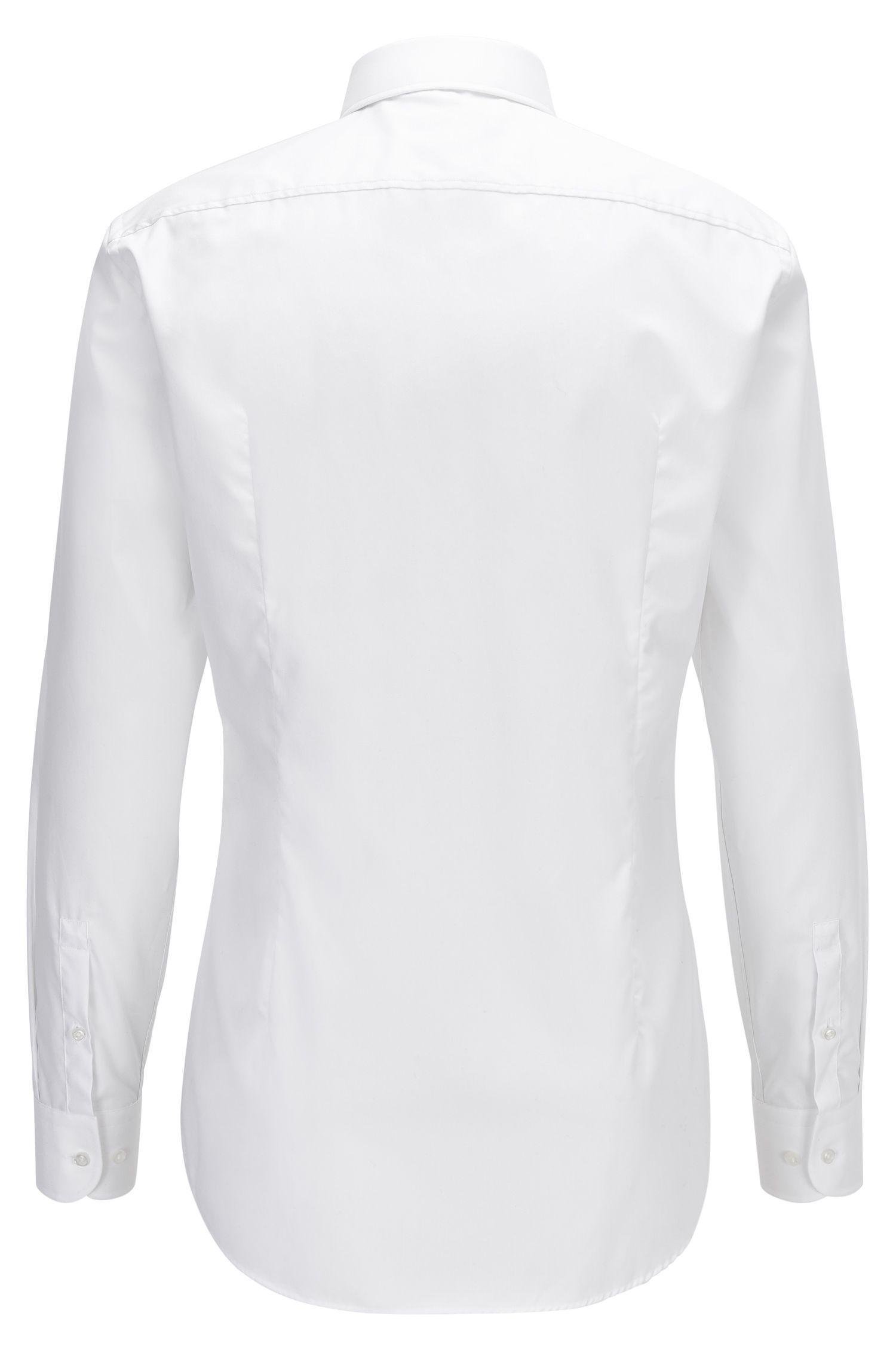 Easy-Iron Cotton Dress Shirt, Slim Fit | Jerris