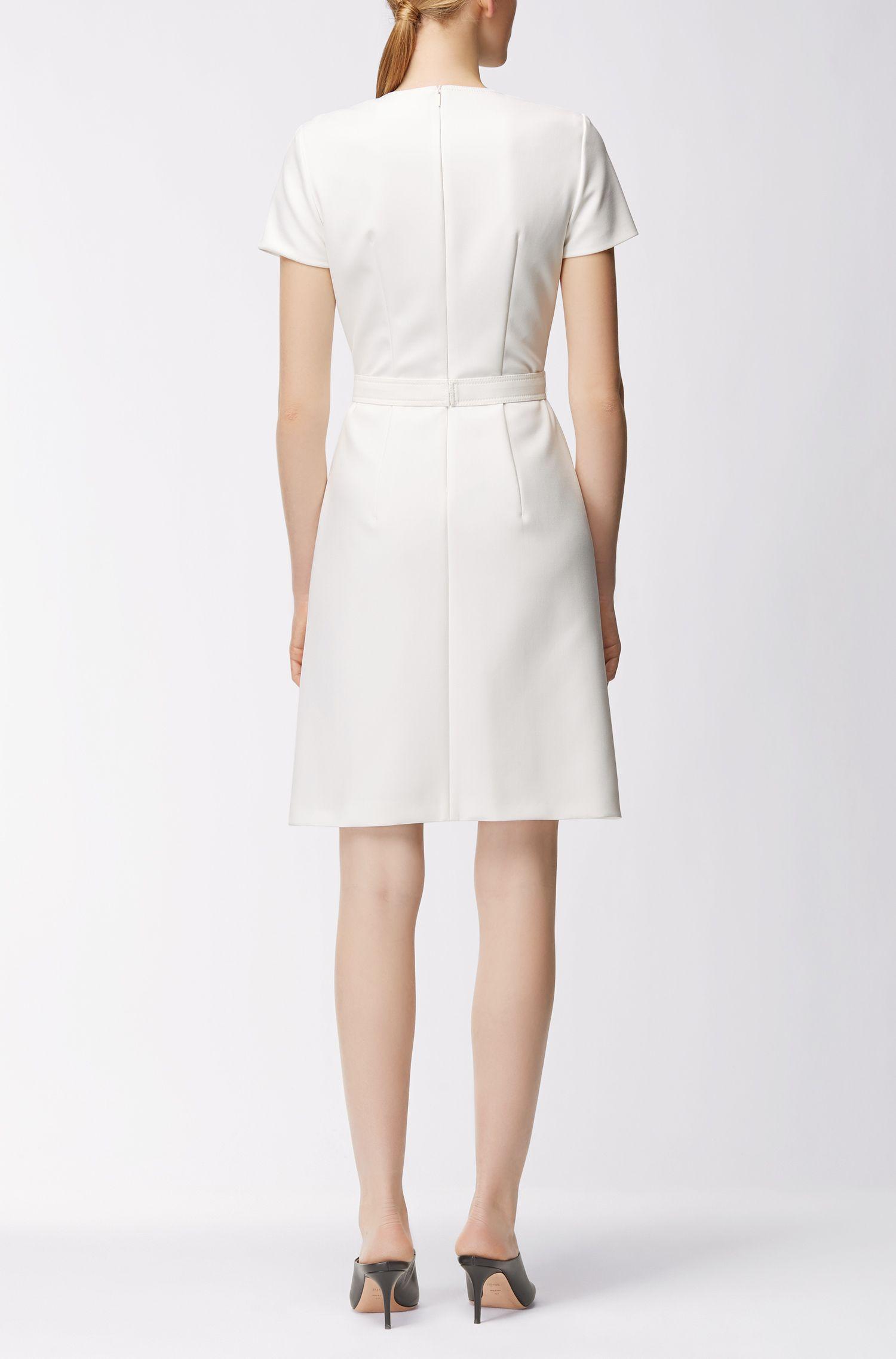 Belted Dress | Dokeni, Natural