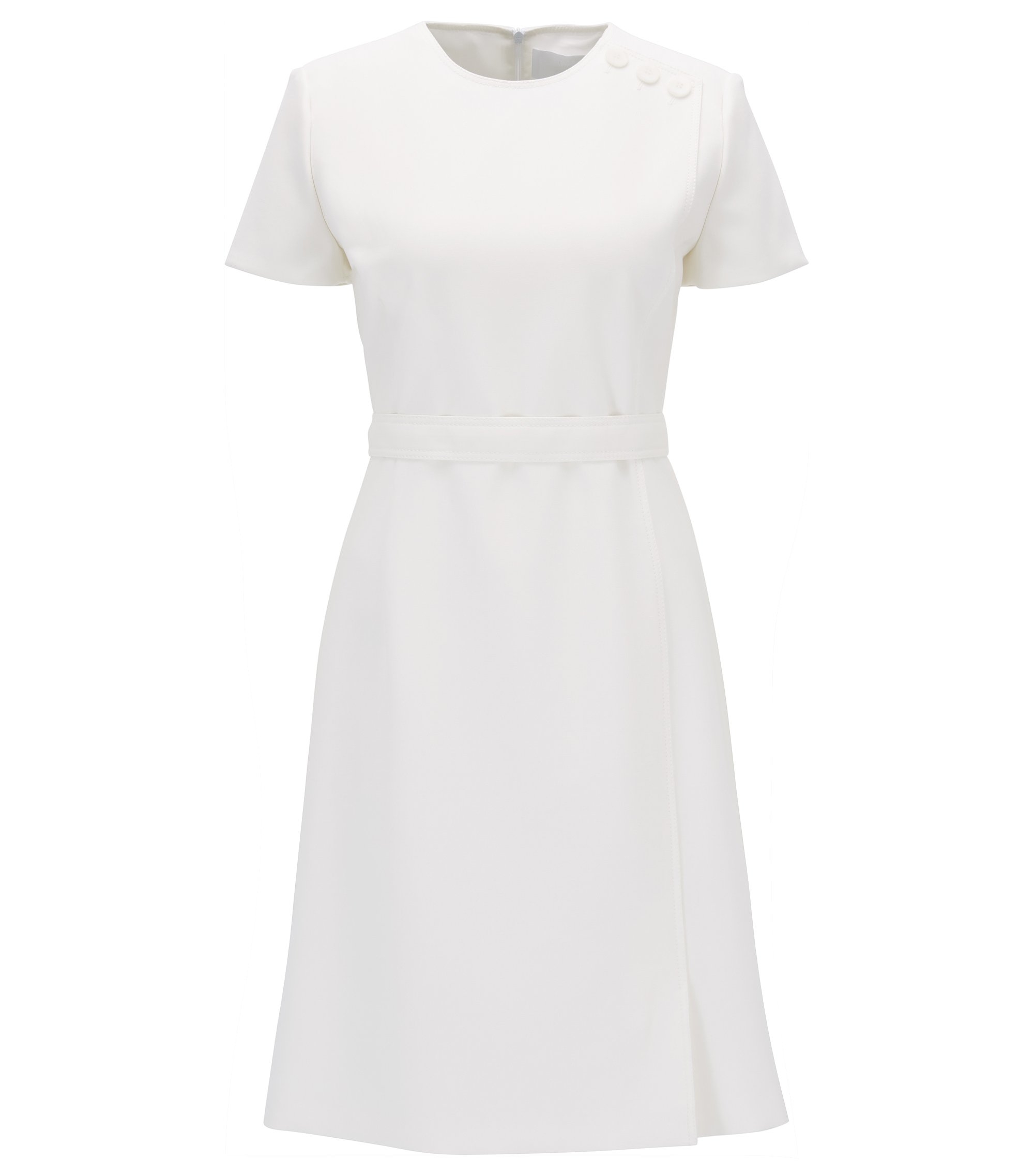 Belted Dress | Dokeni, Natural