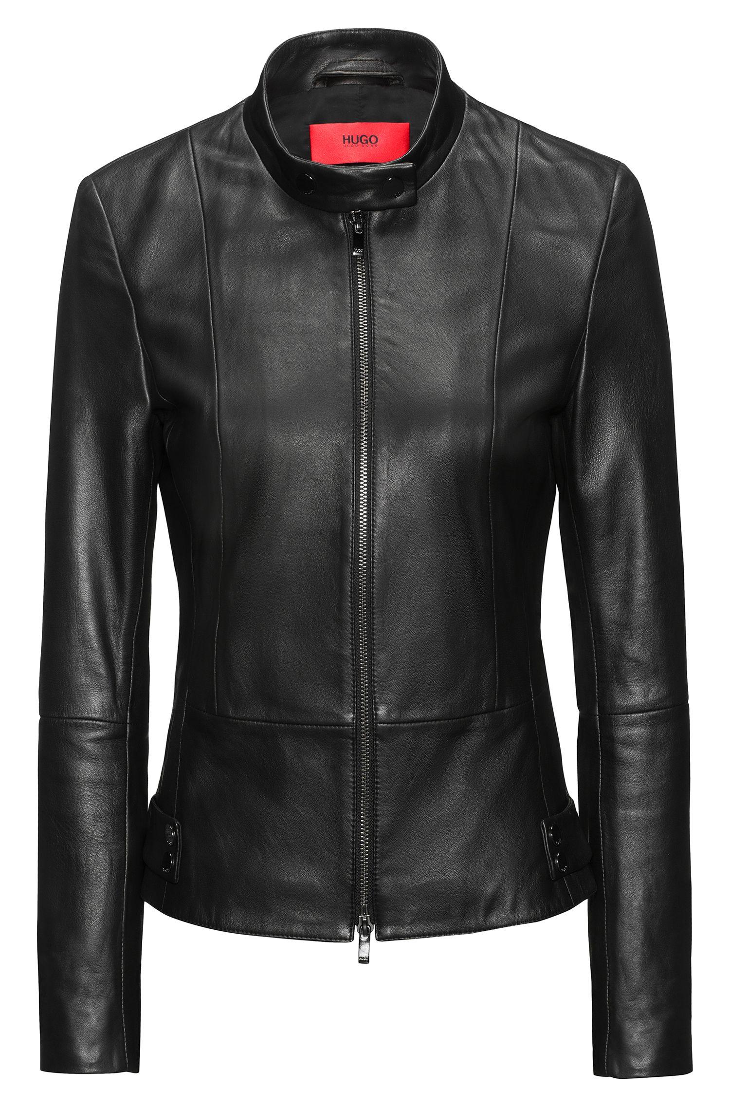Lambskin Leather Jacket   Ligela