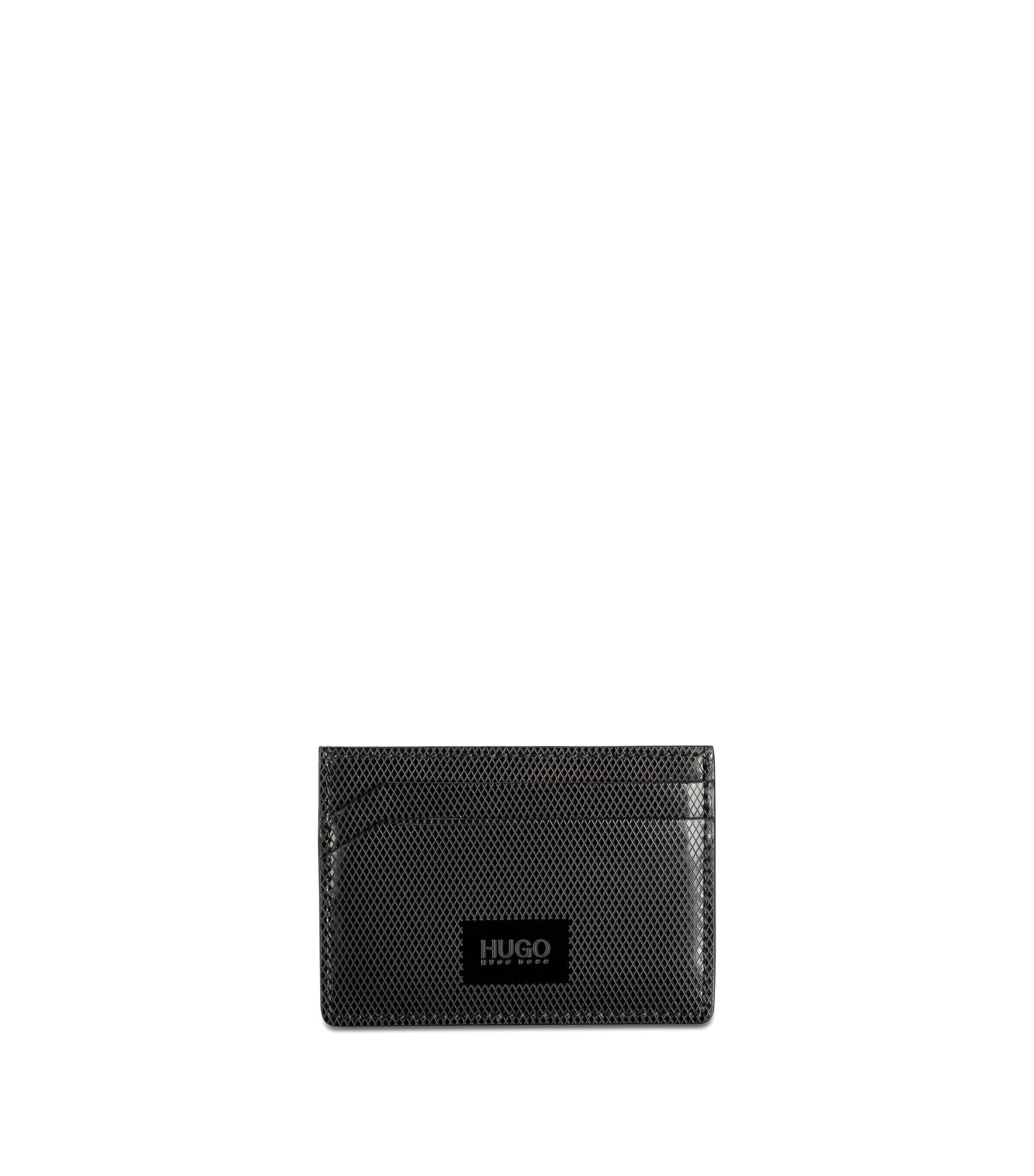 Leather Cardholder | Mercury S Card, Black