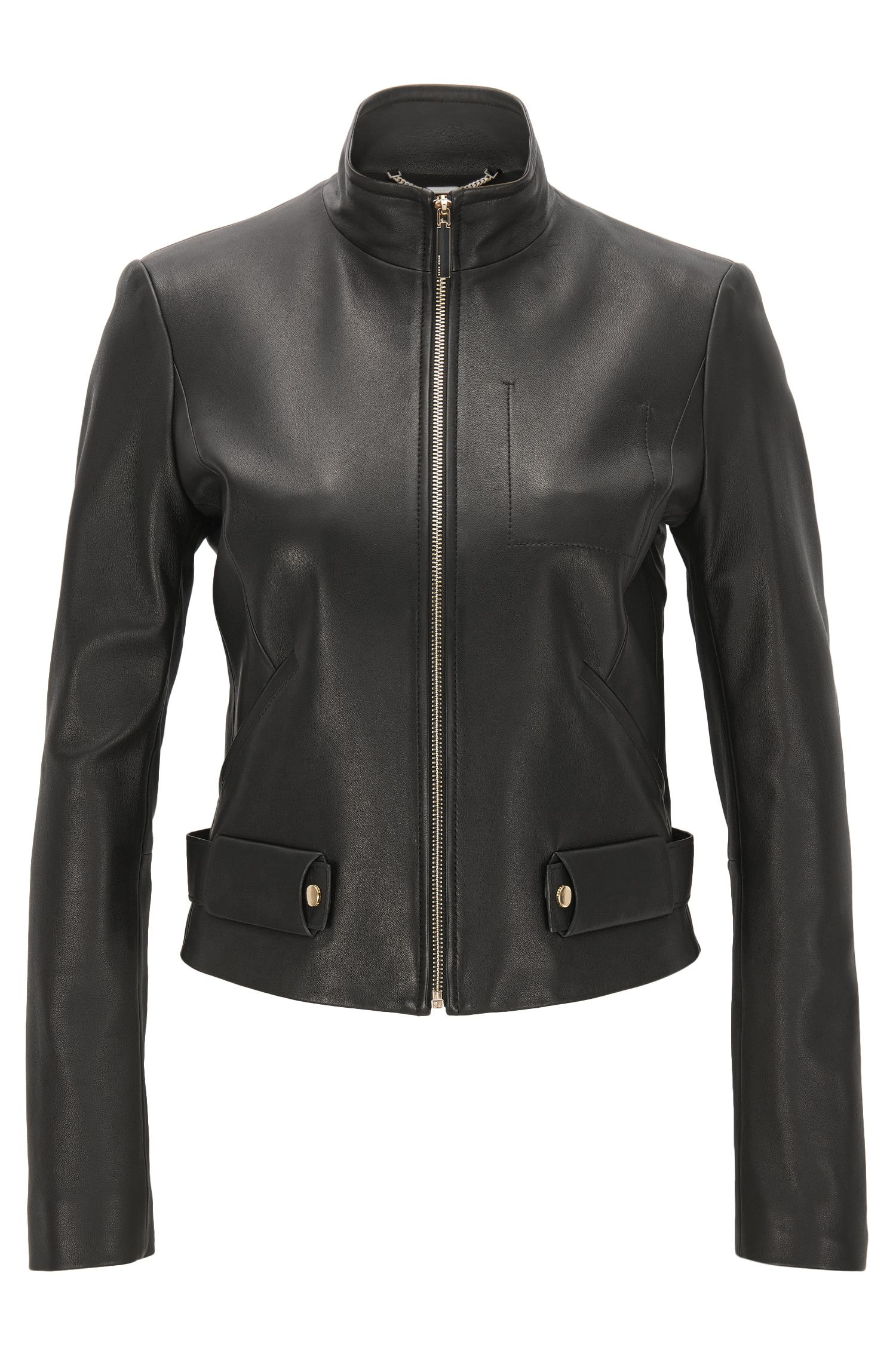 Lambskin Leather Jacket | Sanuvo