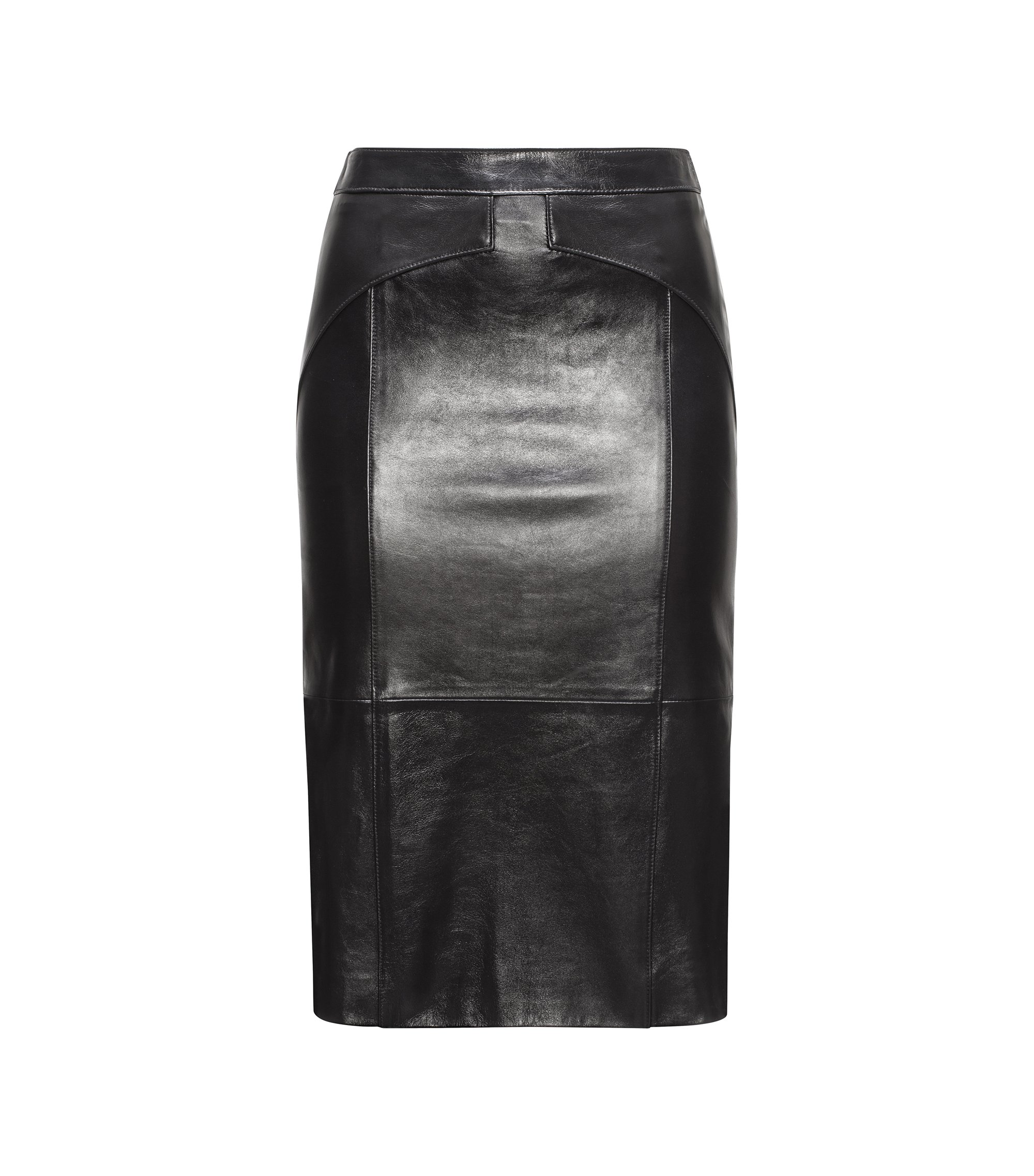Leather Pencil Skirt | Limoni, Black