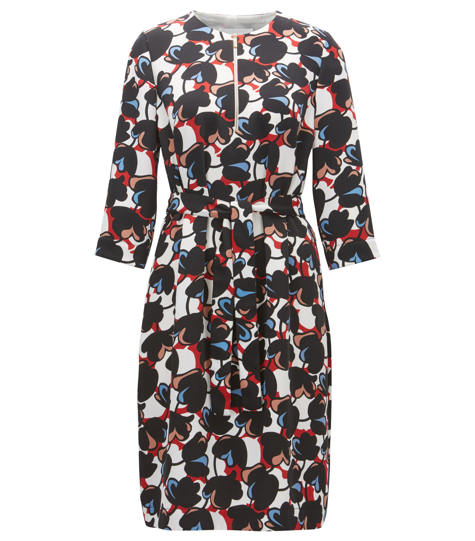 Floral-Print Dress | Dilamy , Patterned