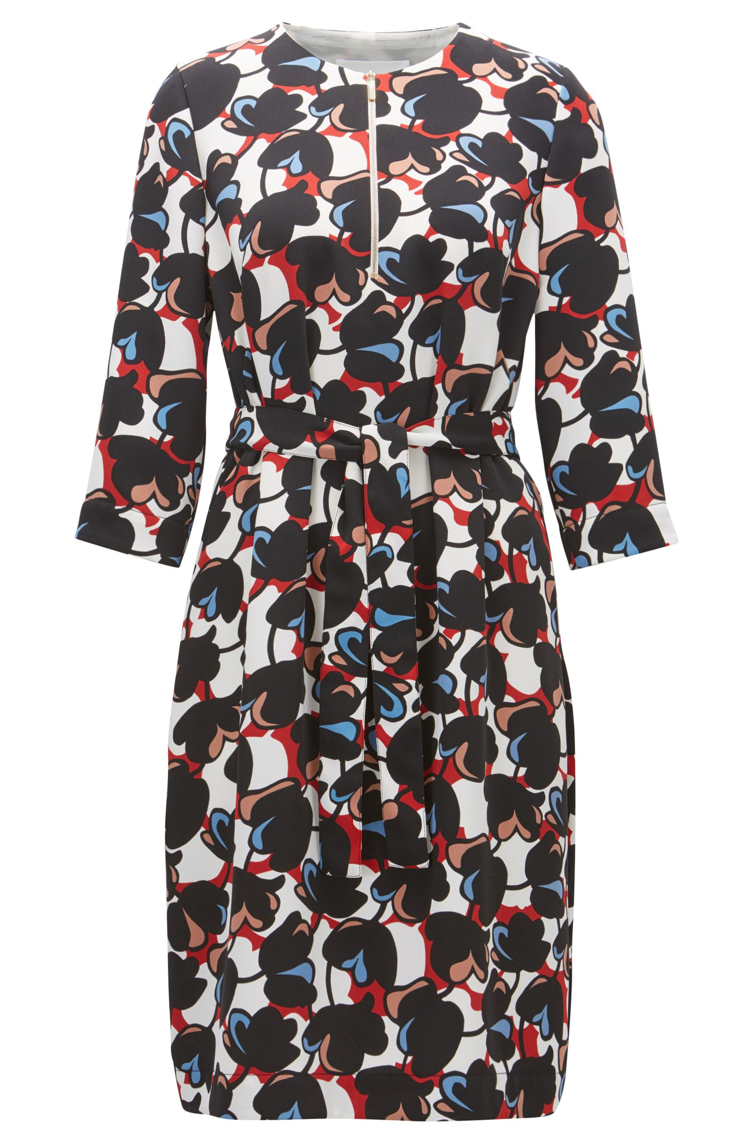 Floral-Print Dress | Dilamy