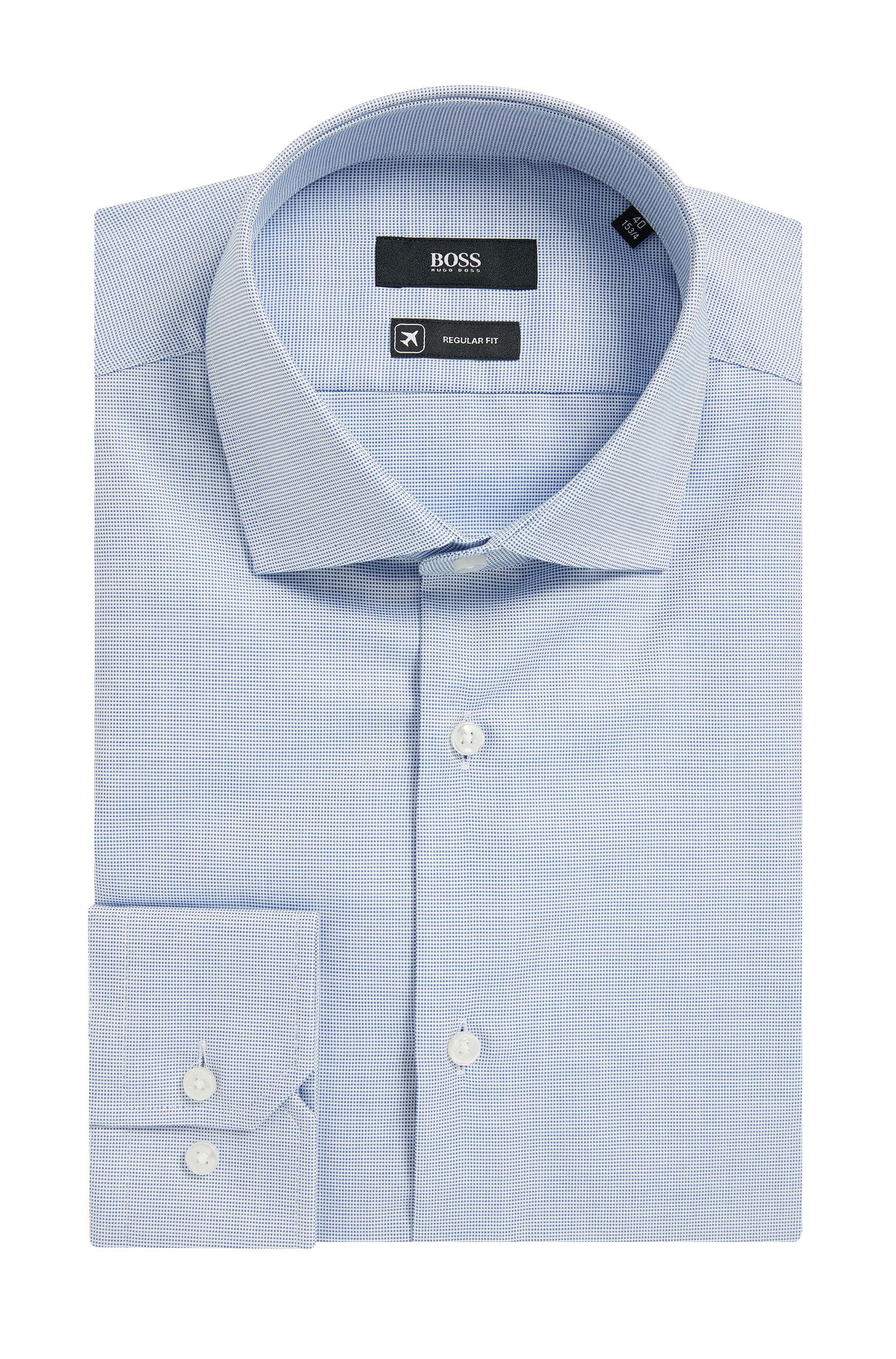 Fresh Active Nailhead Cotton Dress Shirt, Regular Fit | Gordon