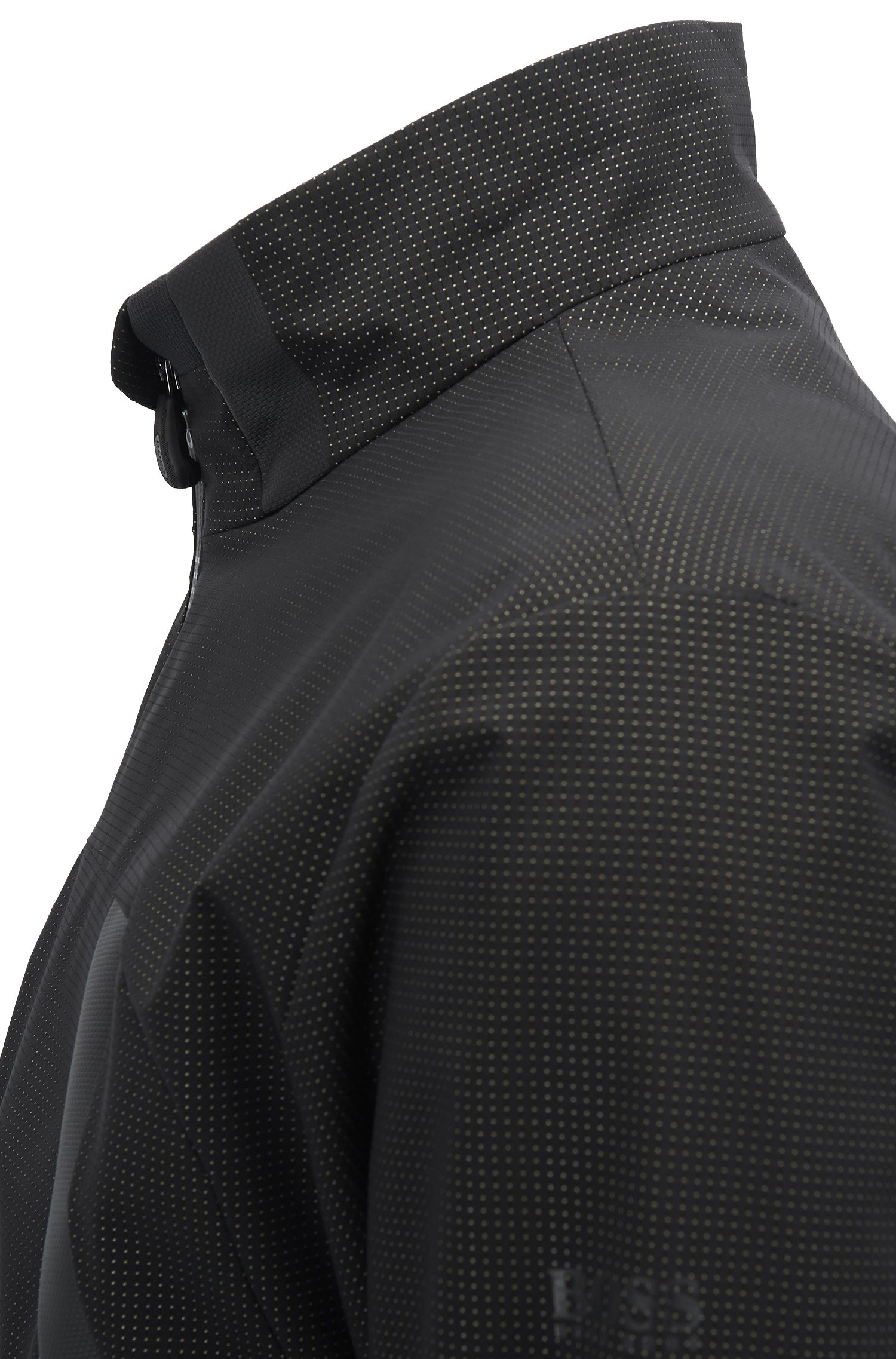 Water-Repellent Micro-Dot Jacket | Jomber Pro, Black