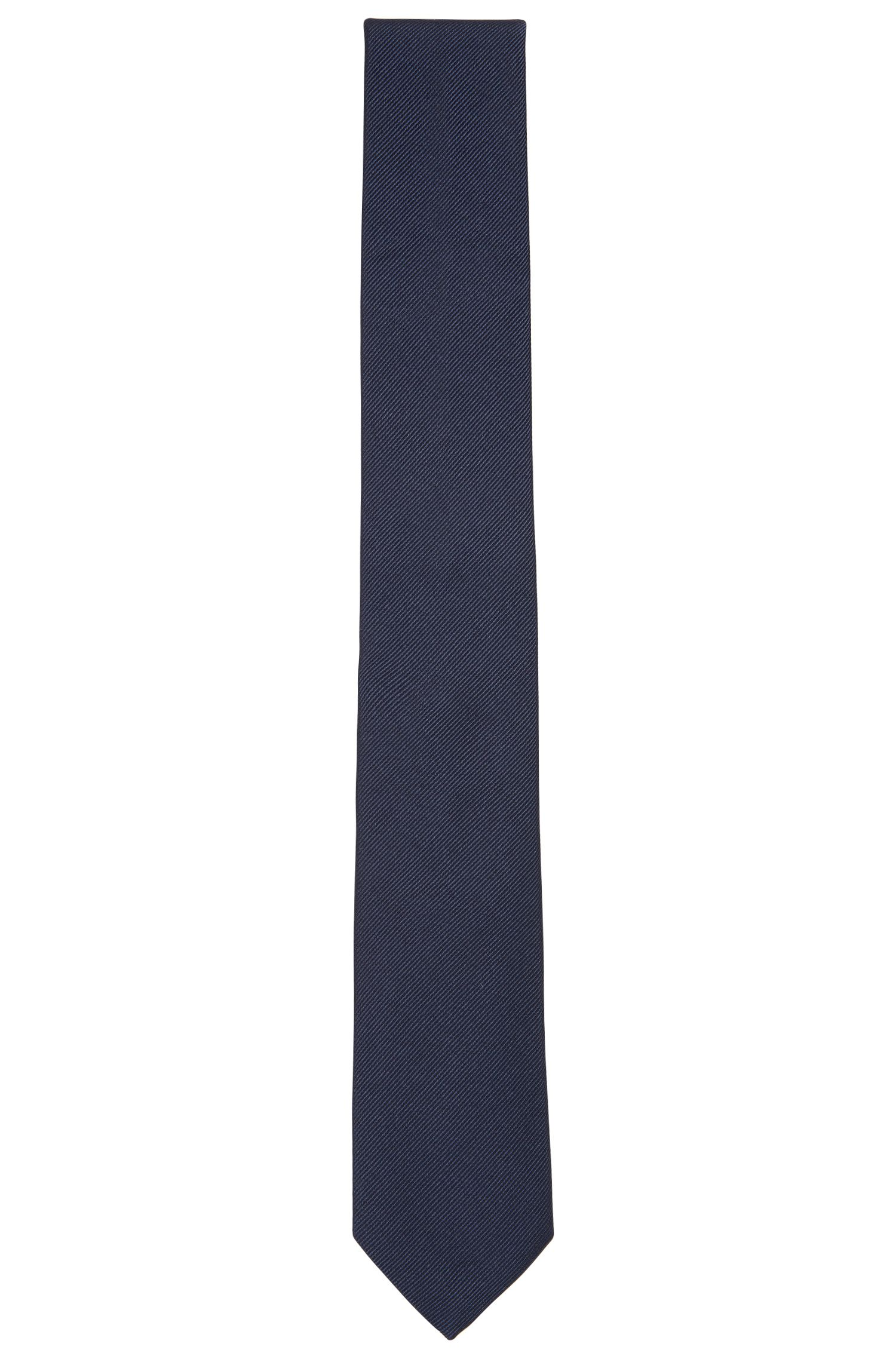 BOSS Tailored Italian Silk Twill Slim Tie