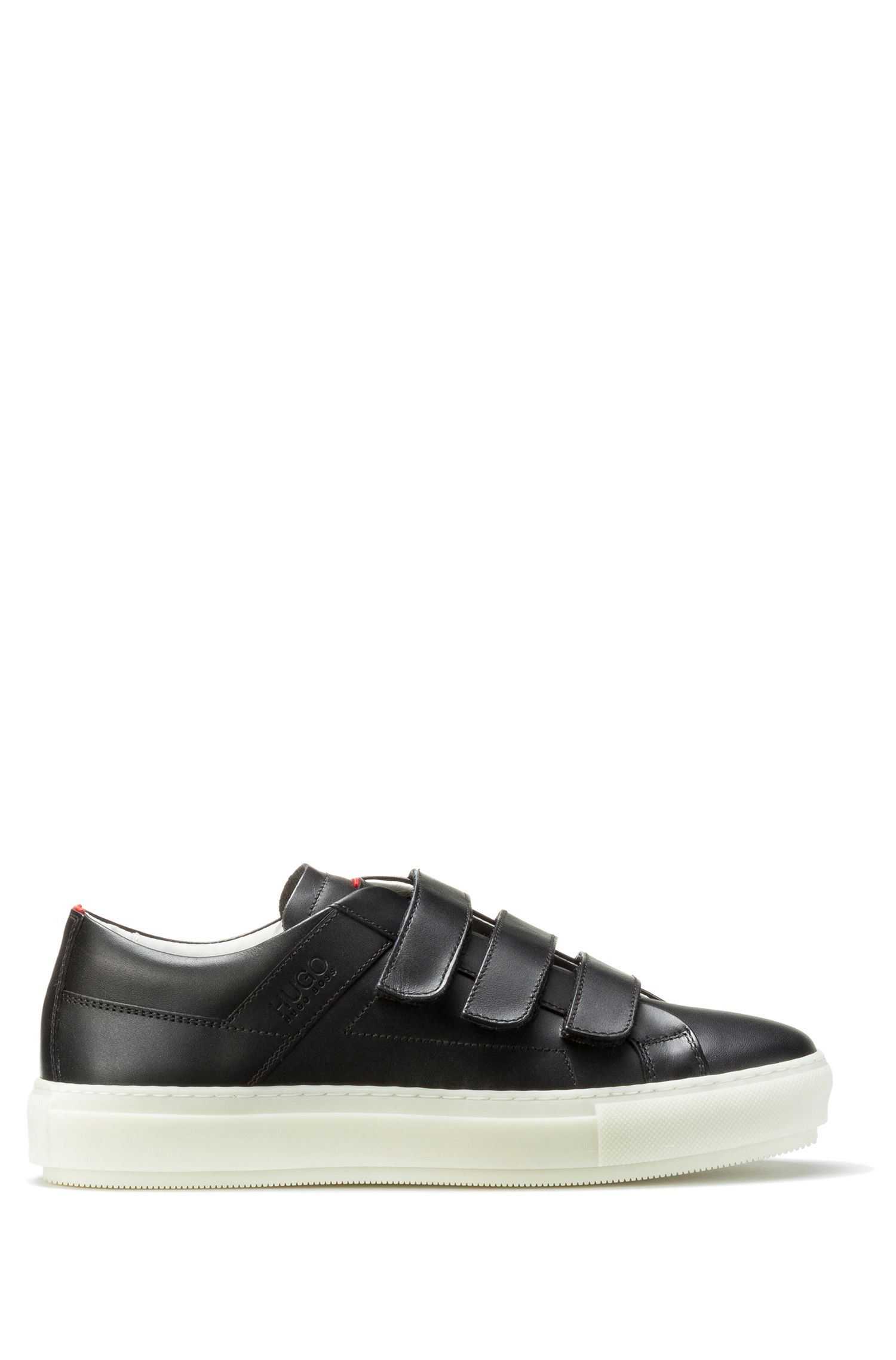 Leather Velcro Low-Top Sneaker | Hackney C