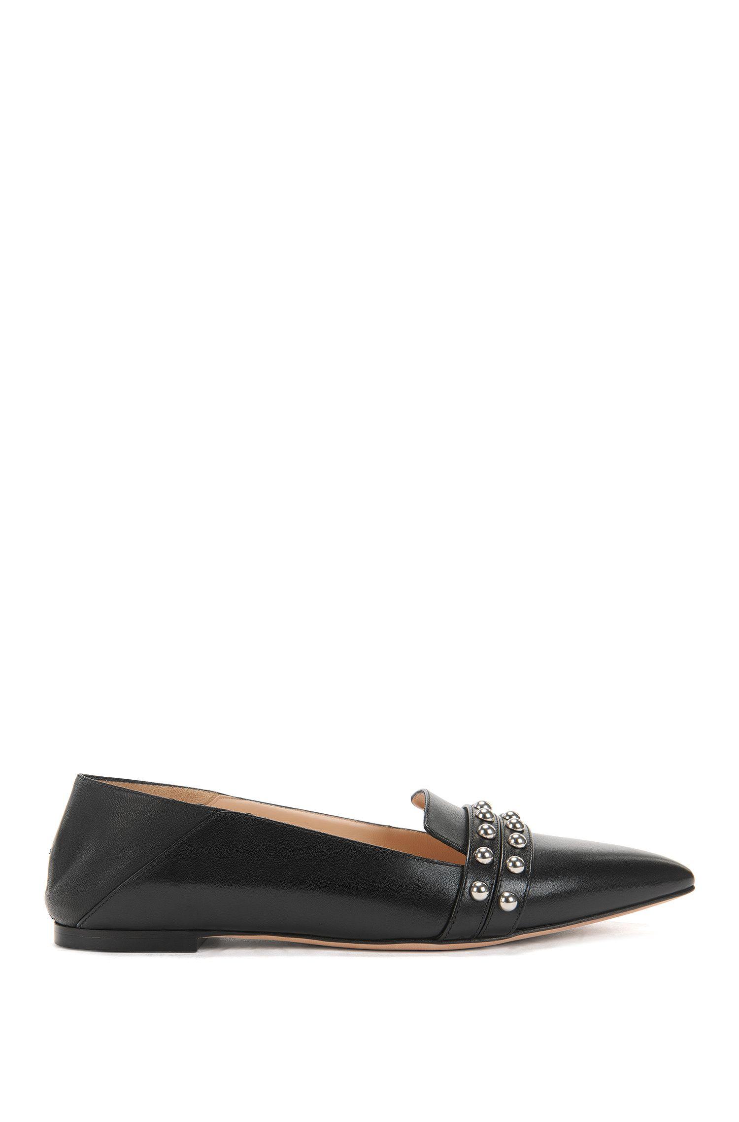 Studded Leather Ballerina Flat | Shortditch Ballerina