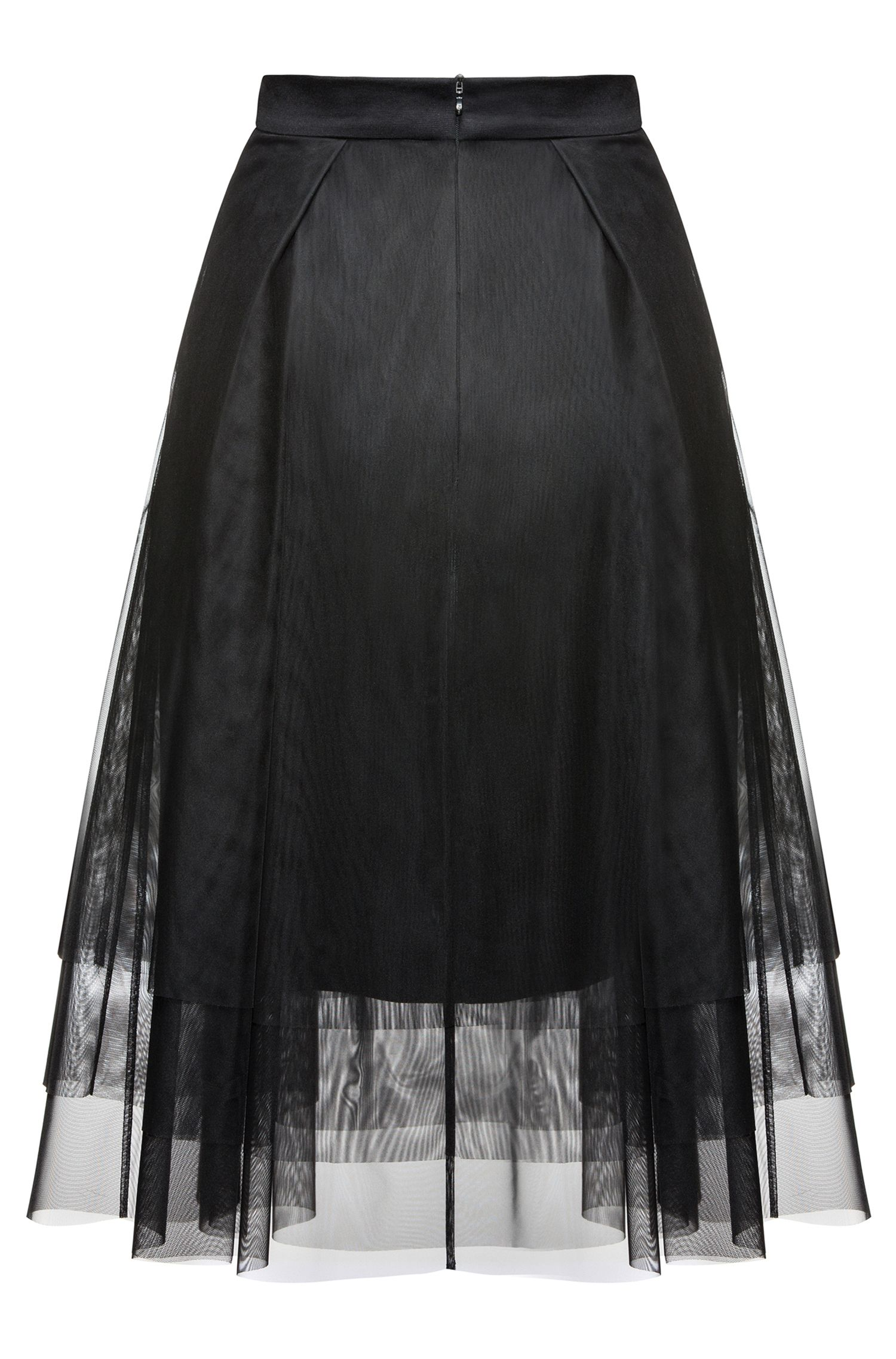 Pleated Tulle Skirt | Roila