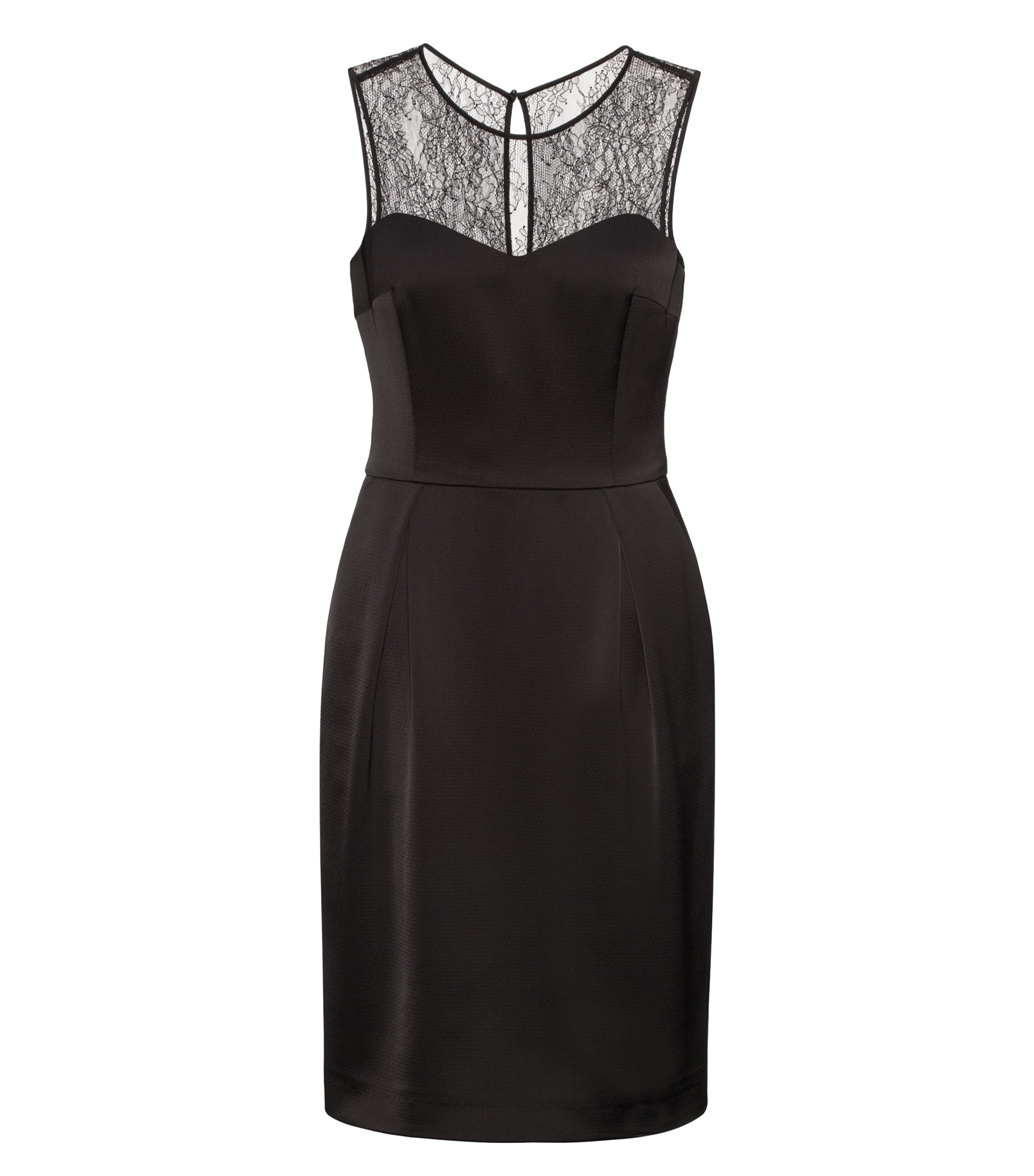 Lace Sleeveless Dress | Kovetta, Black