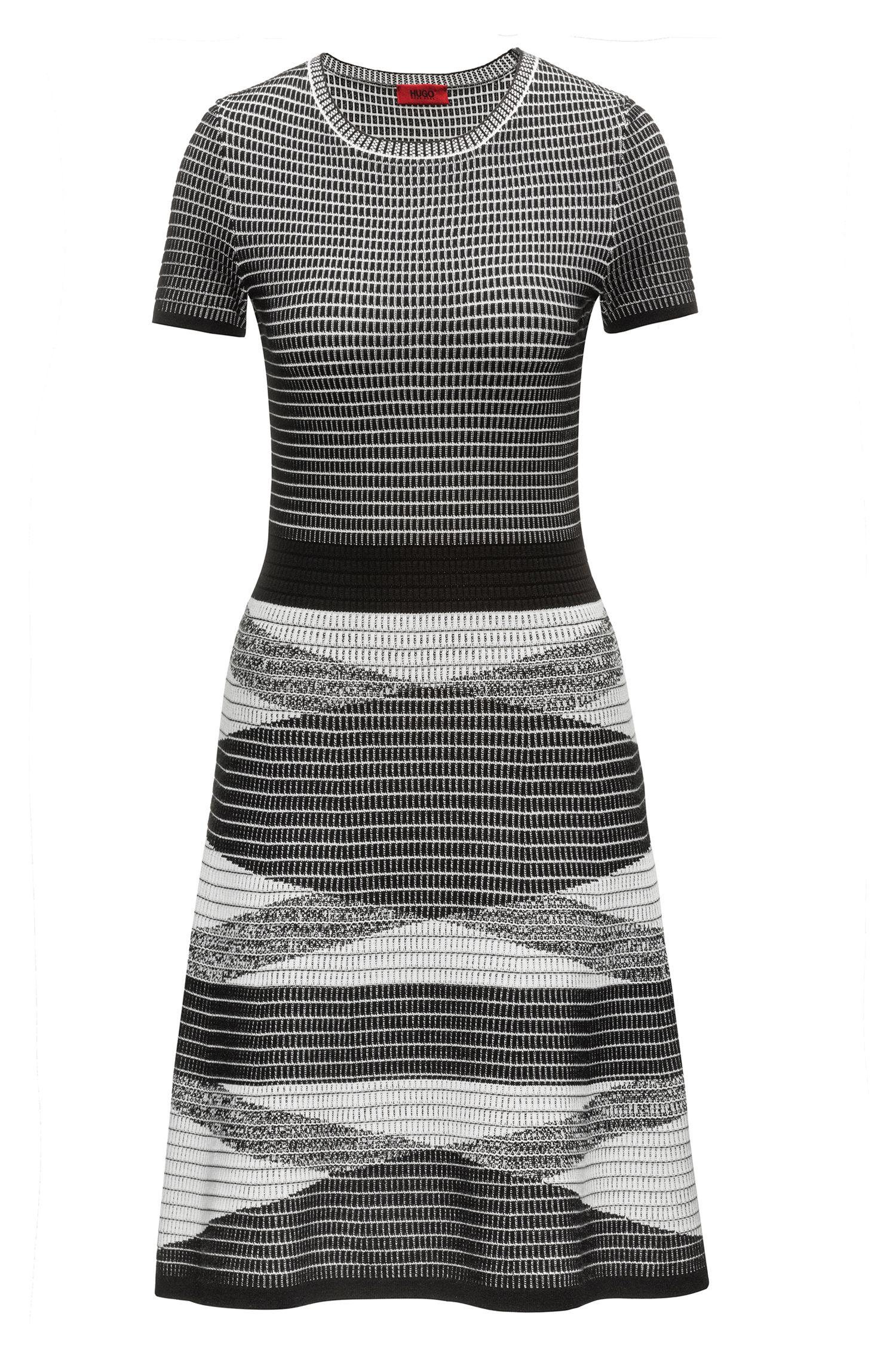 Knitted Waffle Dress   Siyanda, Patterned