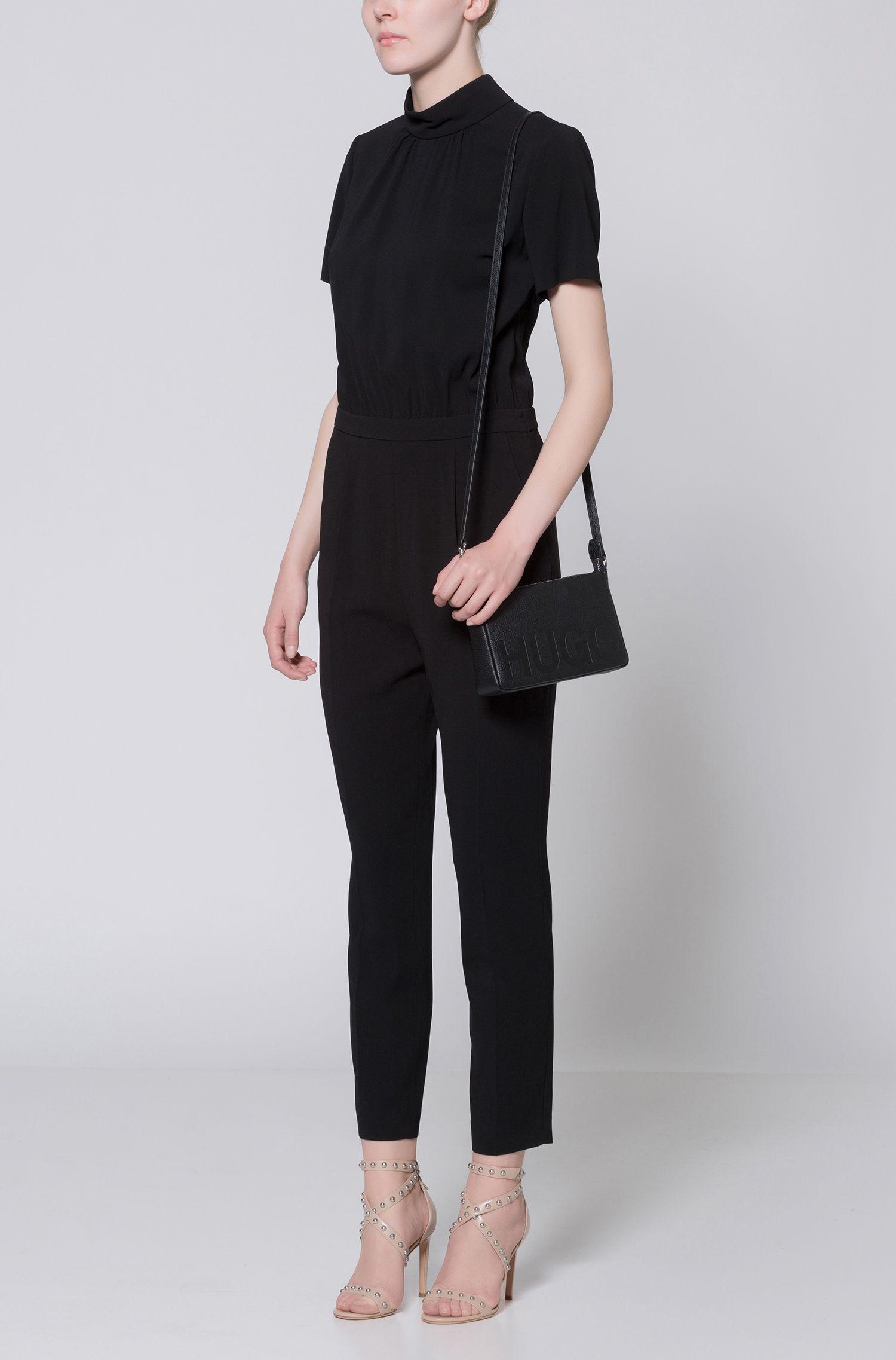 Debossed Leather Bag | Mayfair Mini Bag