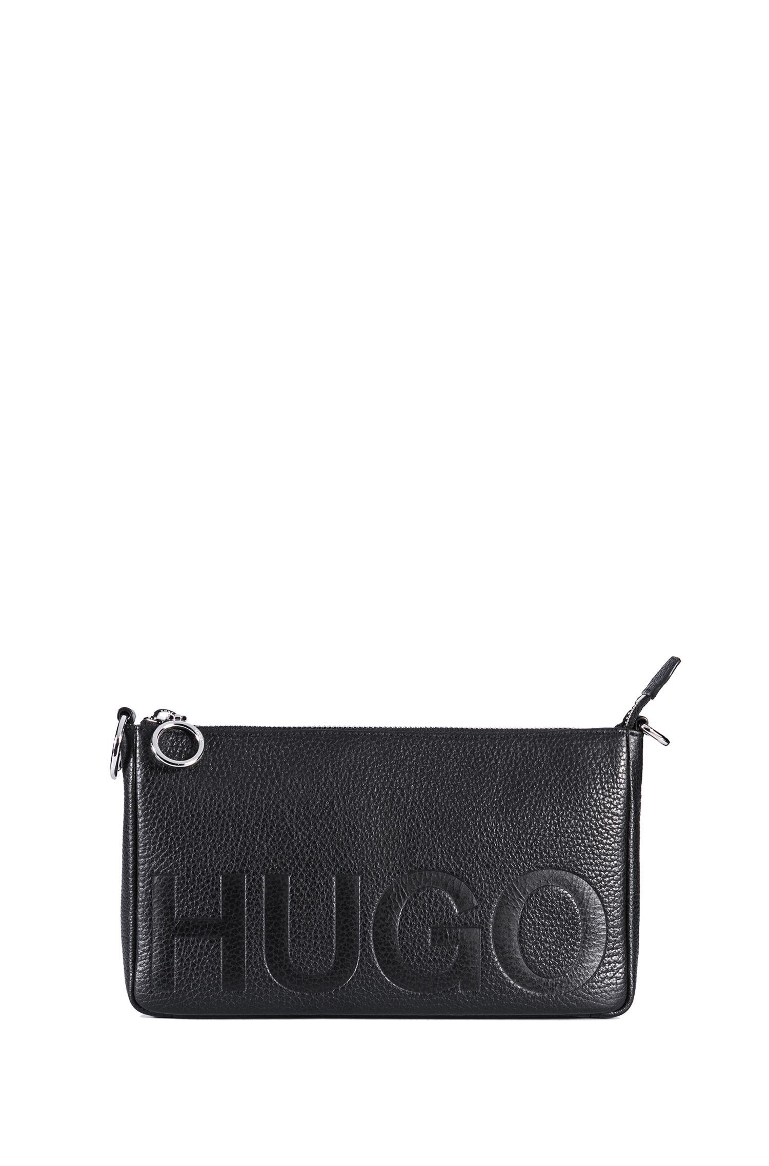 Debossed Leather Bag   Mayfair Mini Bag