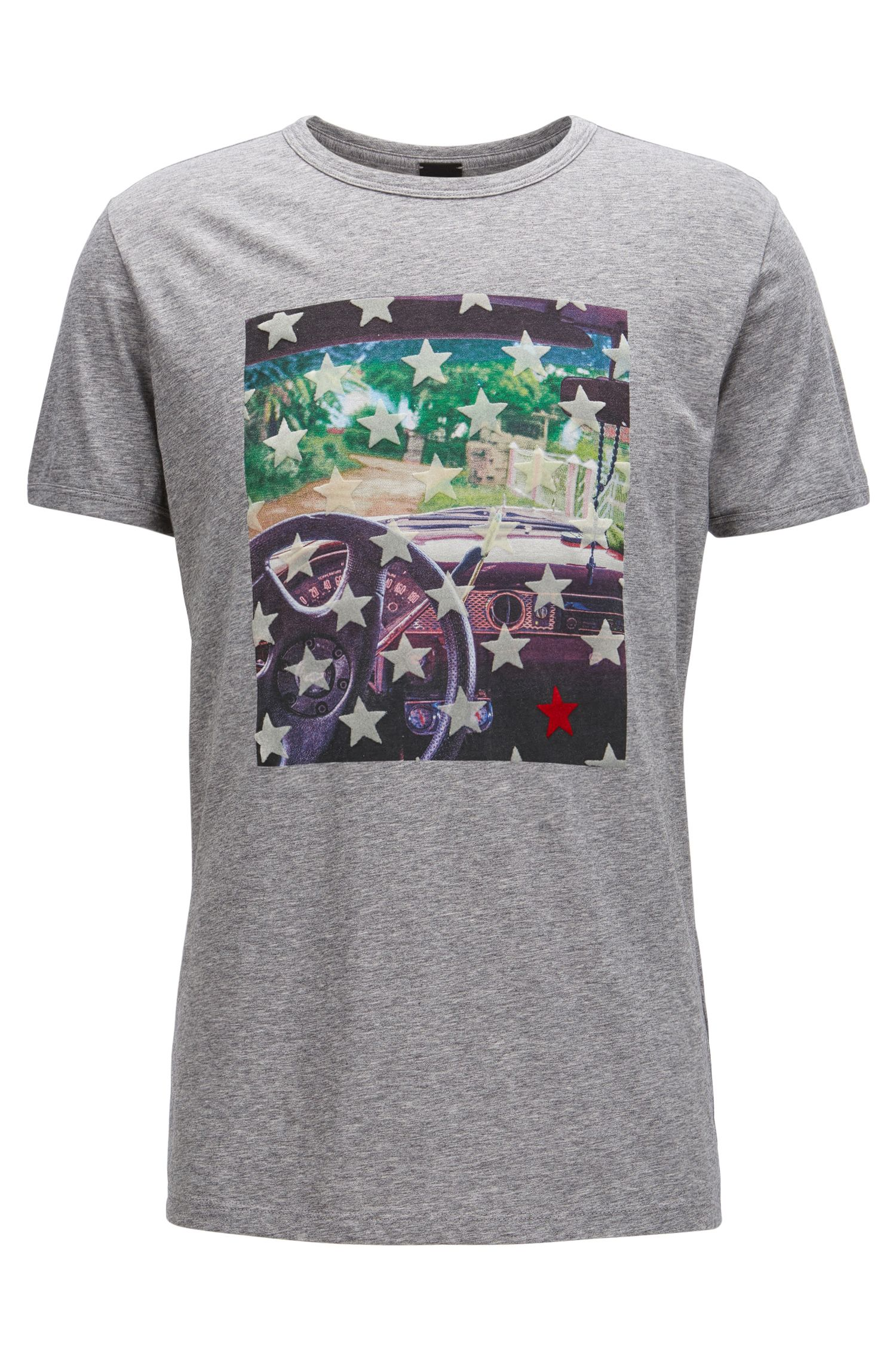 Cotton Graphic T-Shirt | Turbulent