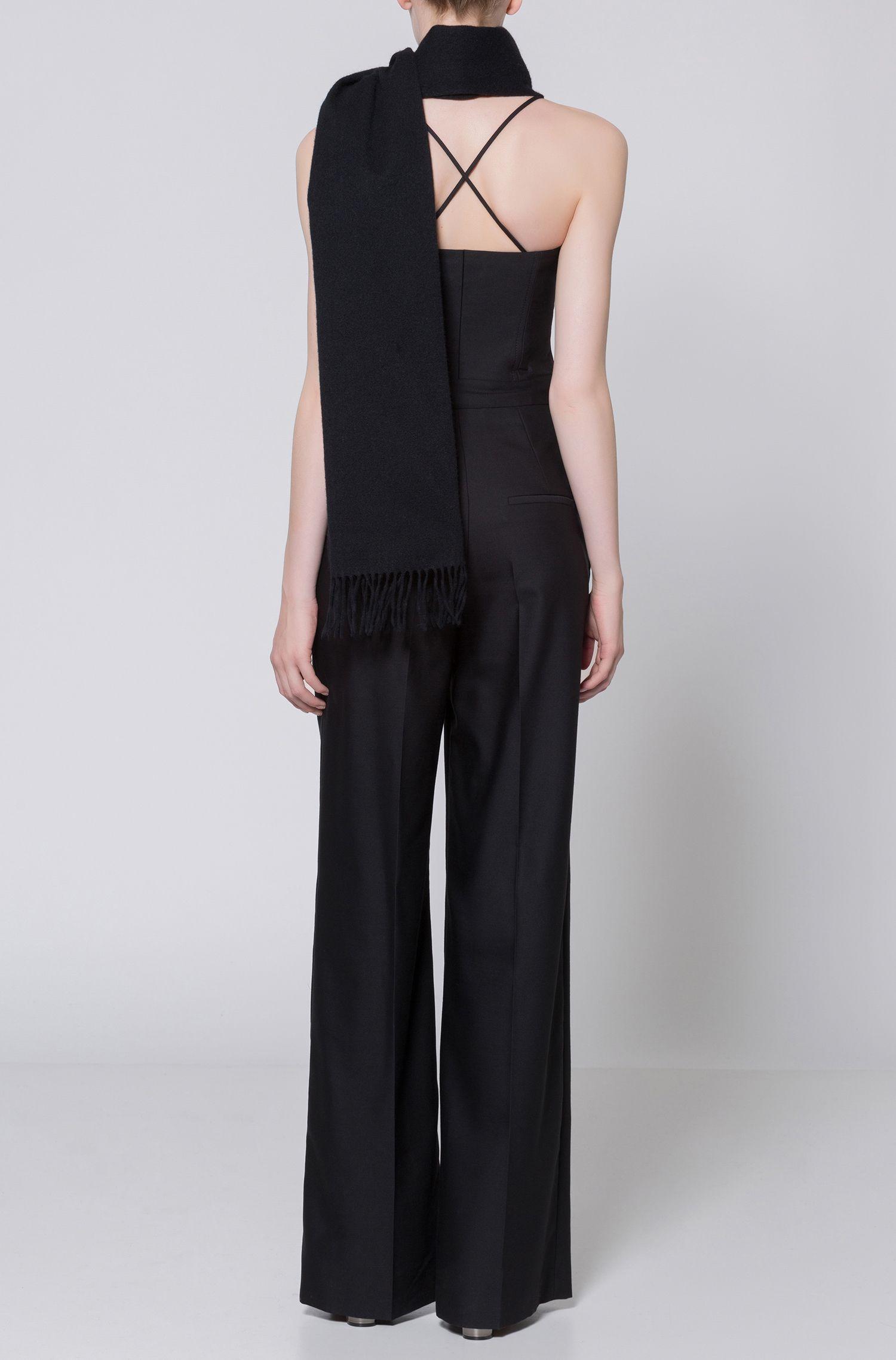 Cotton-Wool Jumpsuit | Kazia