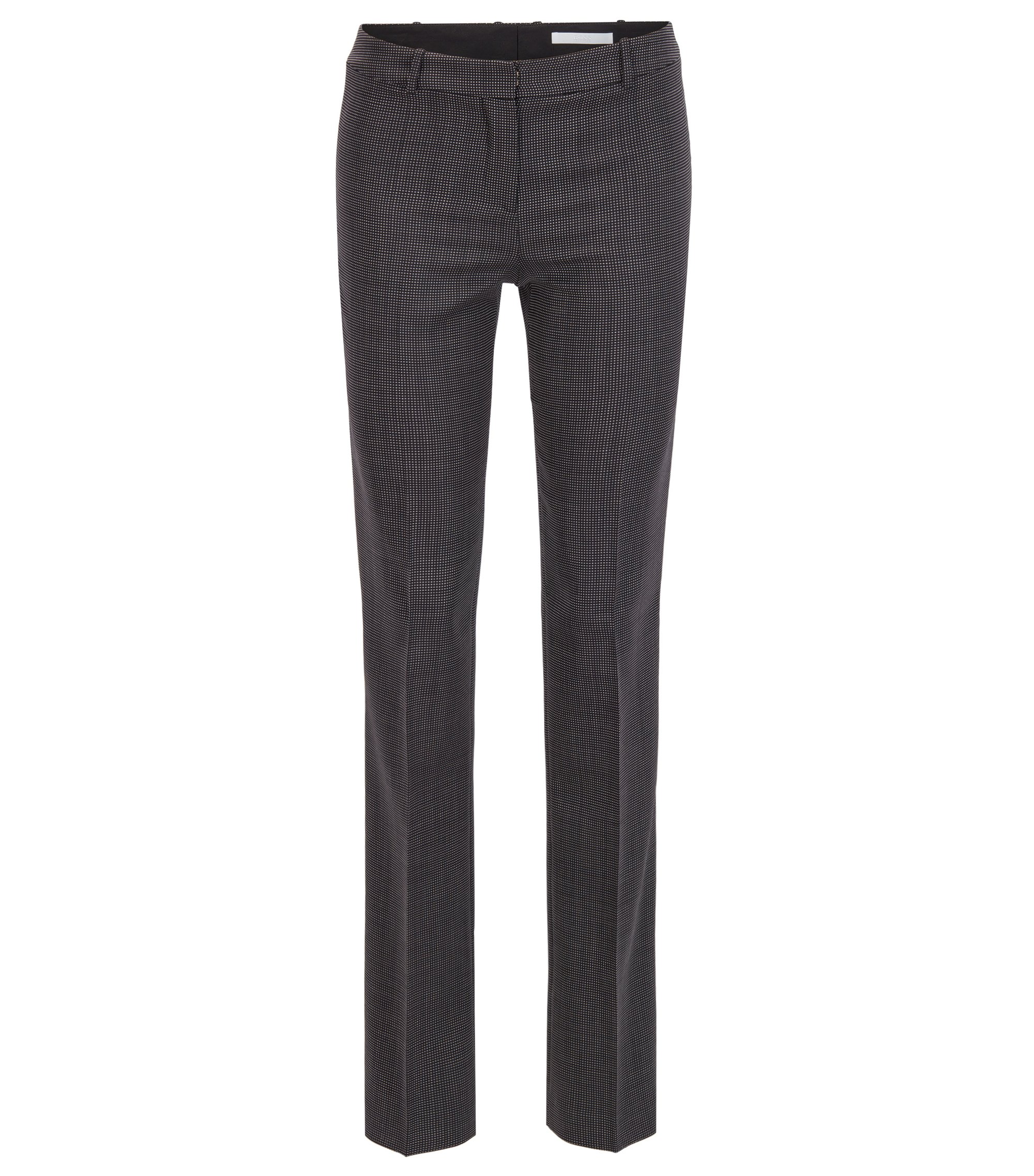 Nailhead Stretch Wool Pant | Tamea, Patterned