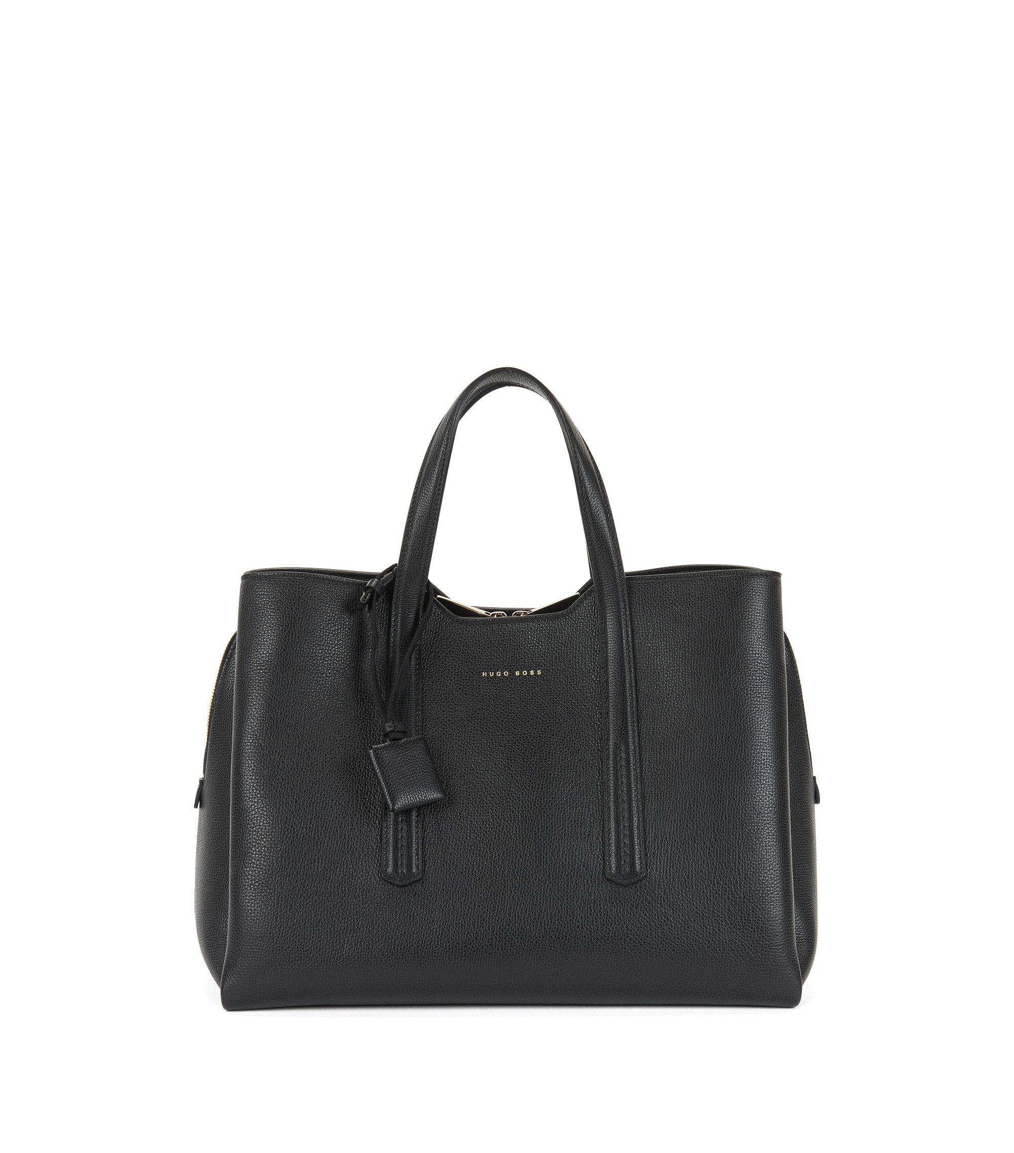 Full-Grain Leather Tote | Taylor Tote, Black