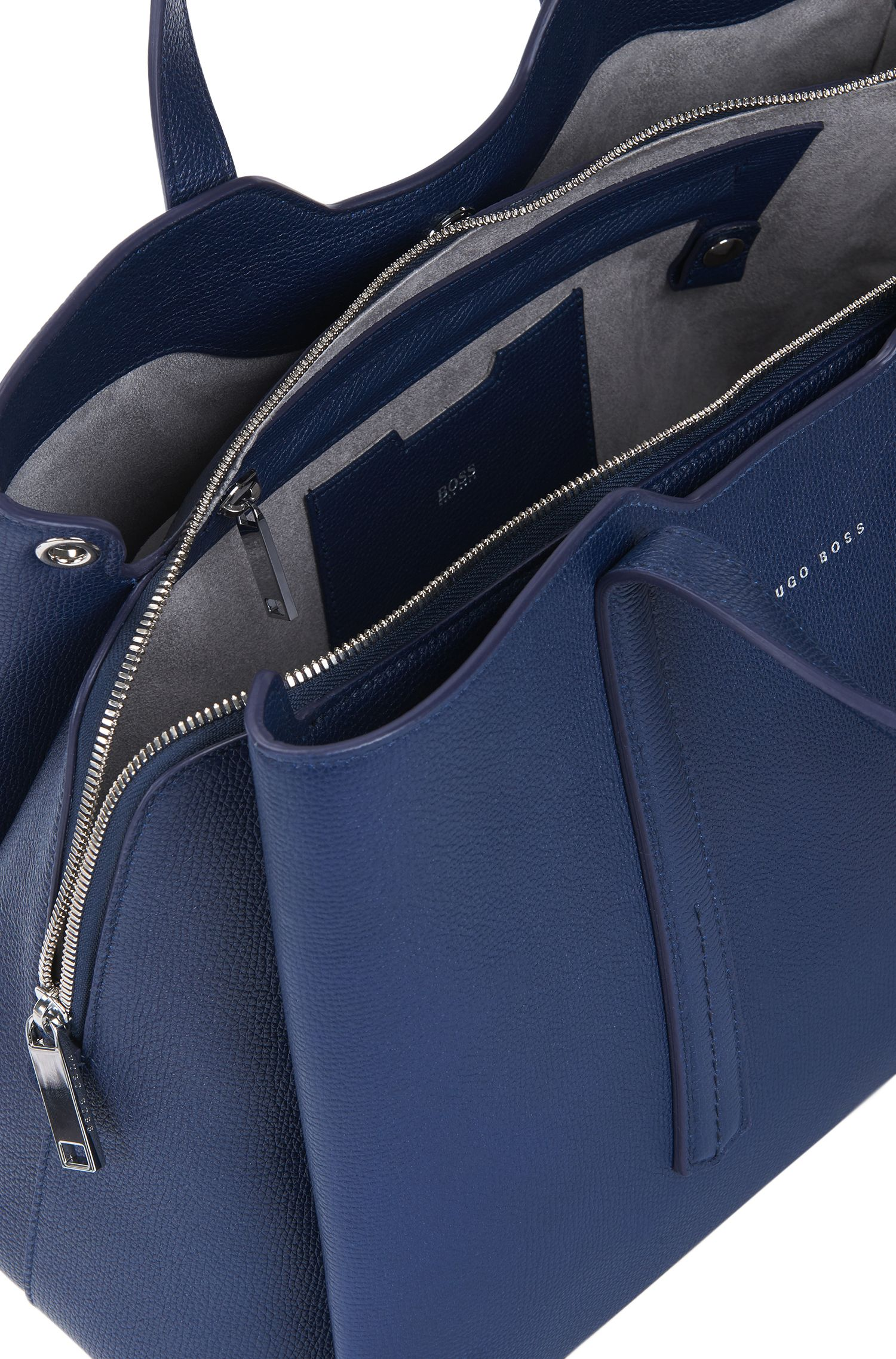 Full-Grain Leather Tote | Taylor Tote, Blue
