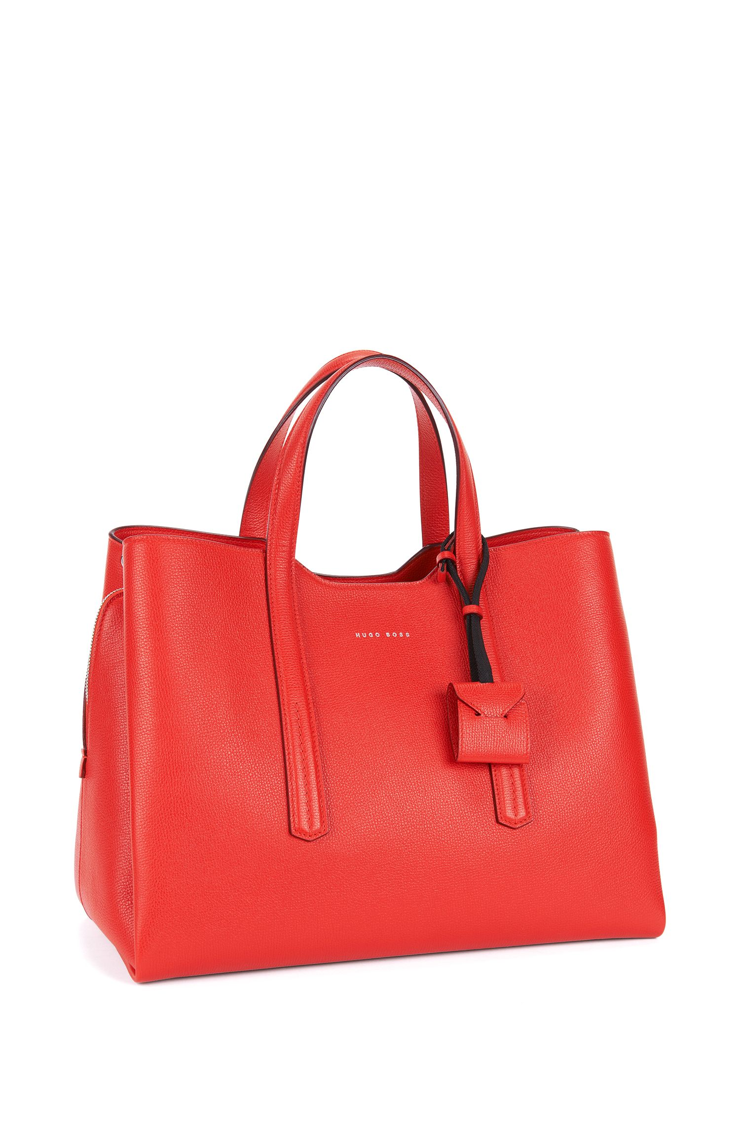 Full-Grain Leather Tote | Taylor Tote, Red