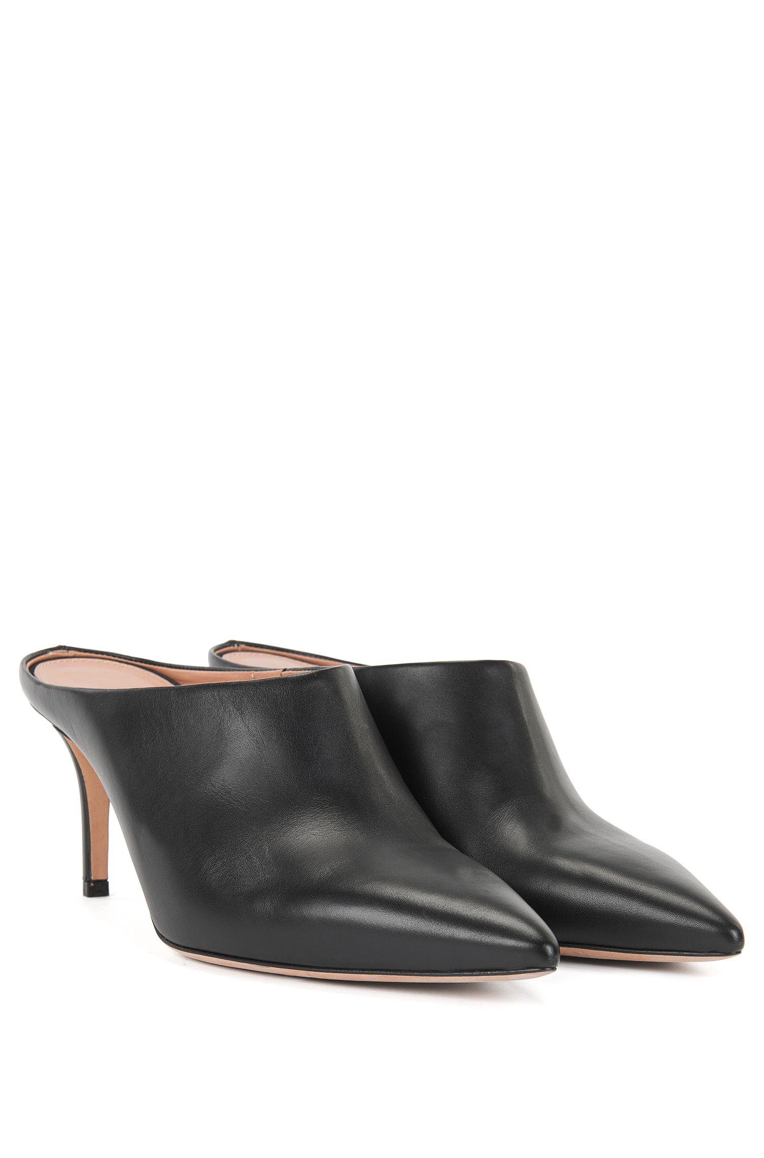 Italian Leather Mule | Eddie Sabot