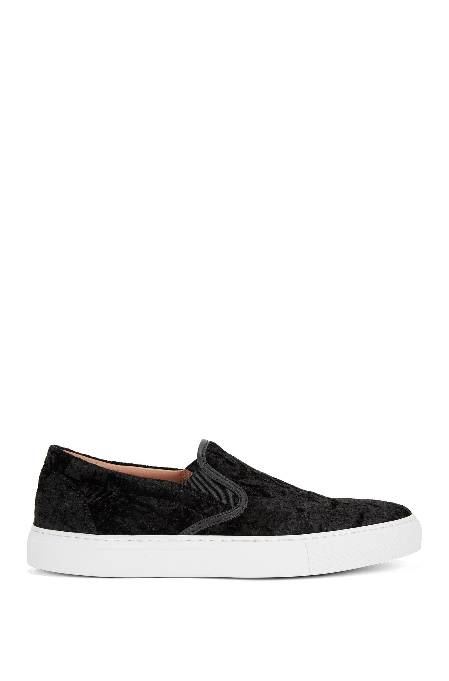 Velvet Slip-On Sneaker   Kate Slip On VL