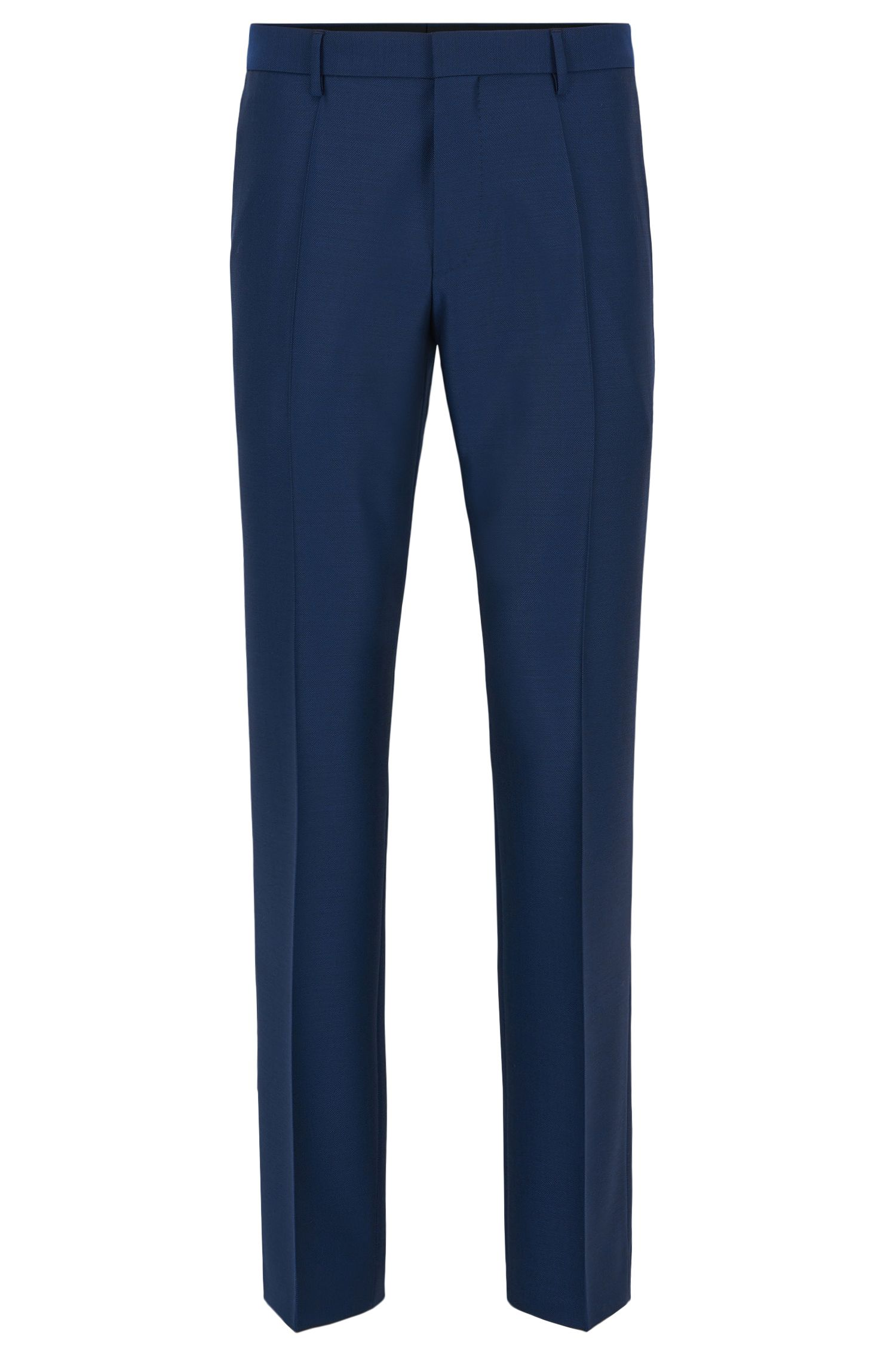 Virgin Wool Pant, Slim Fit | Genesis, Dark Blue